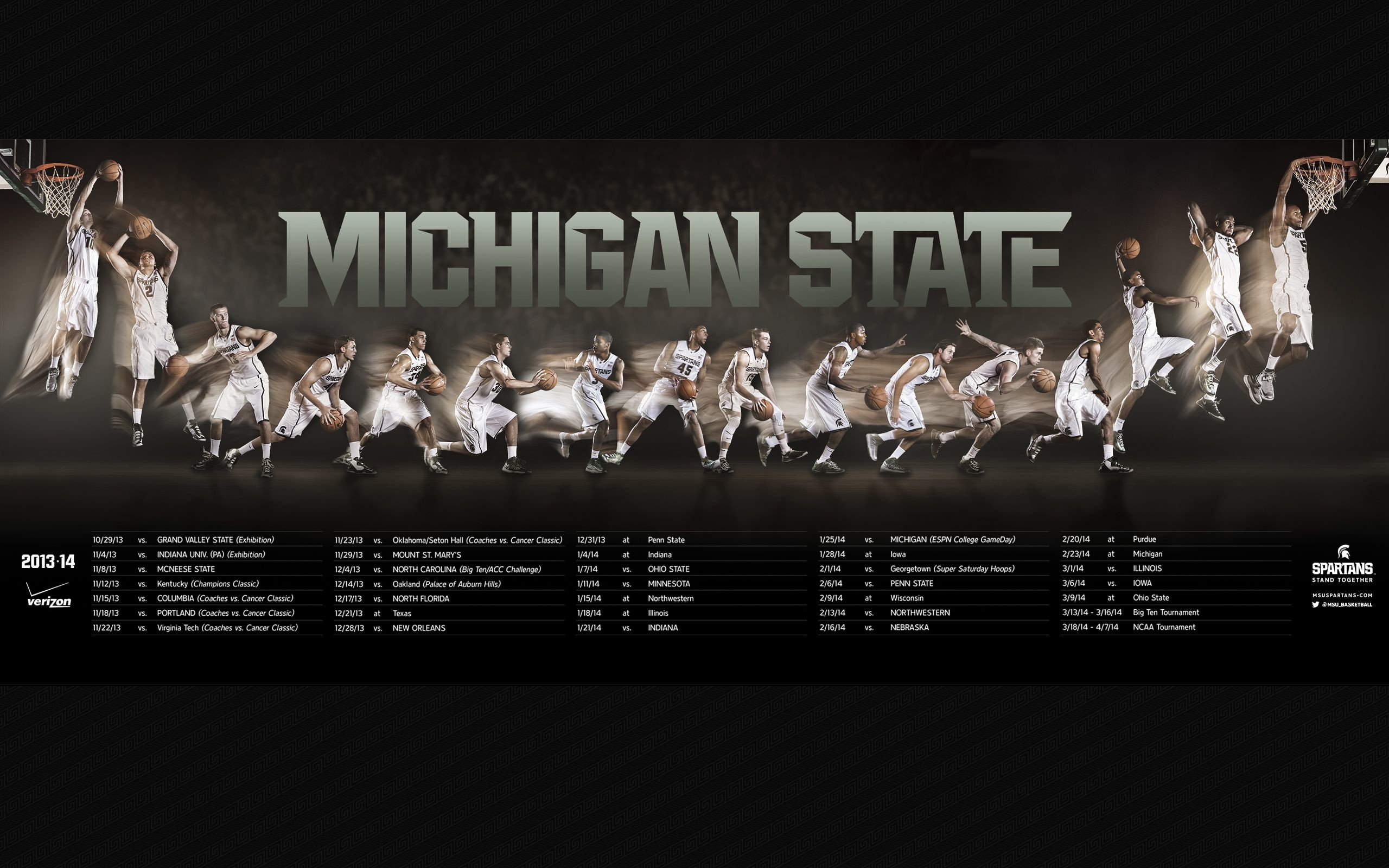 """Search Results for """"michigan state basketball schedule wallpaper"""" –  Adorable Wallpapers"""