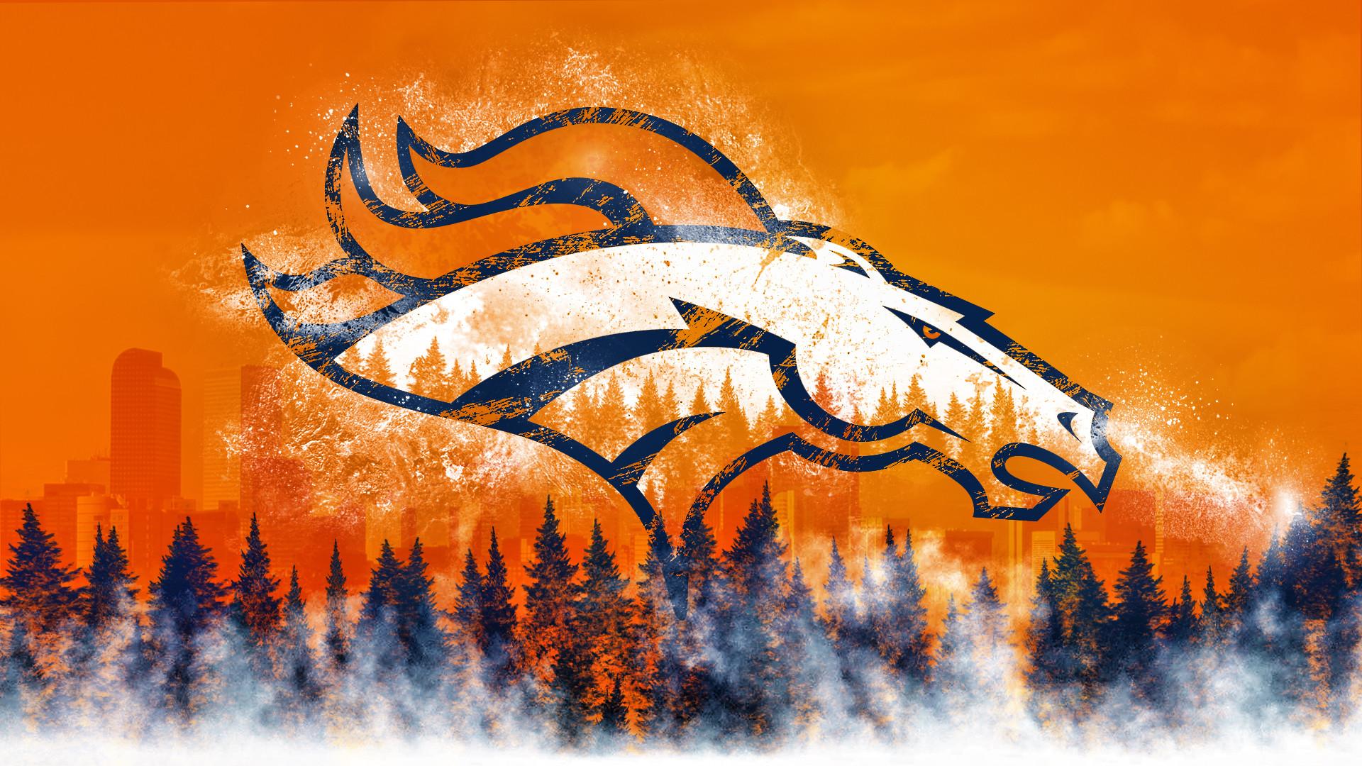 Broncos Country Logo Wallpaper by DenverSportsWalls on DeviantArt