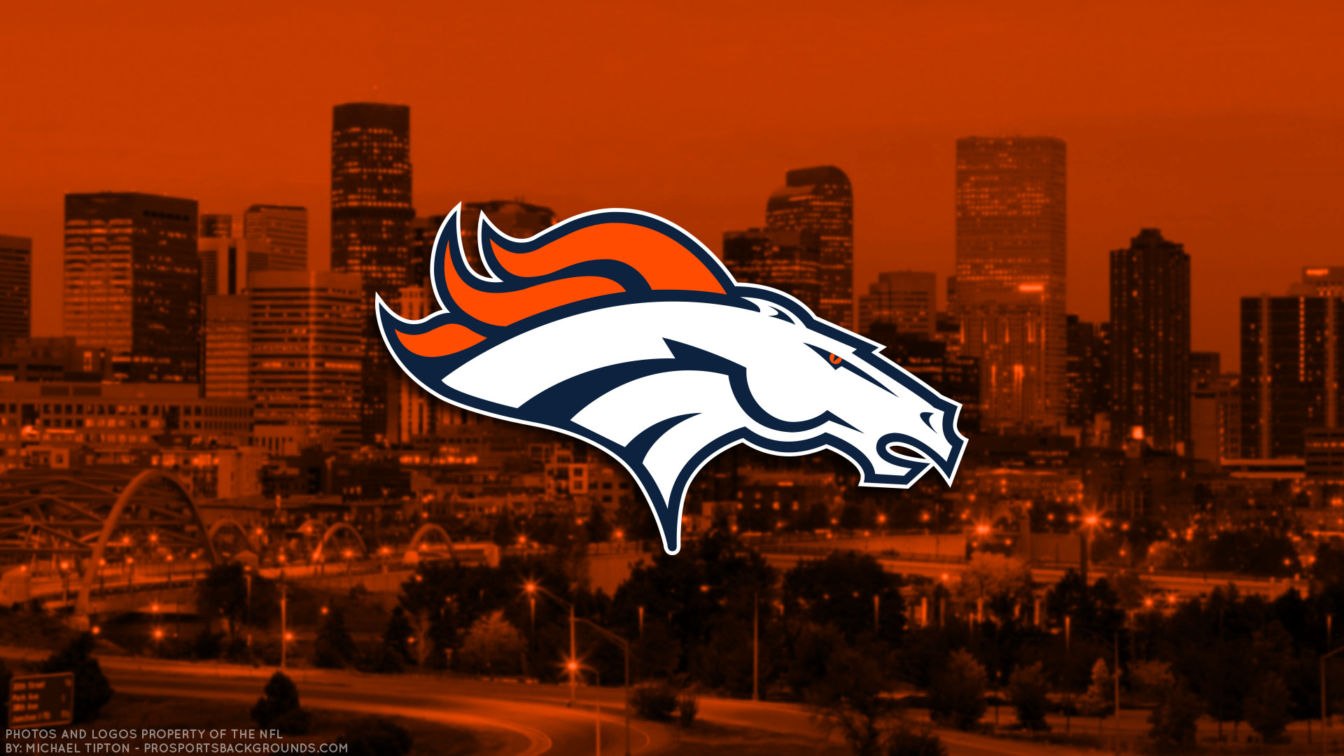 … Denver Broncos 2017 football logo wallpaper pc desktop computer