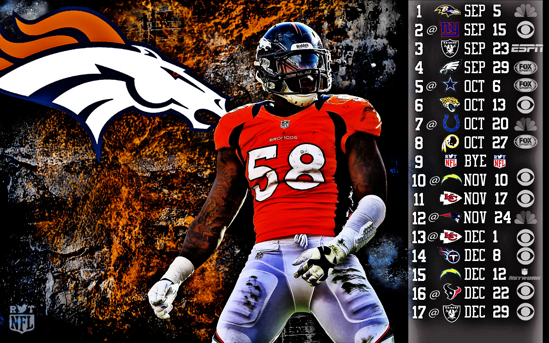 2013 Denver Broncos football nfl g wallpaper | | 130406 |  WallpaperUP
