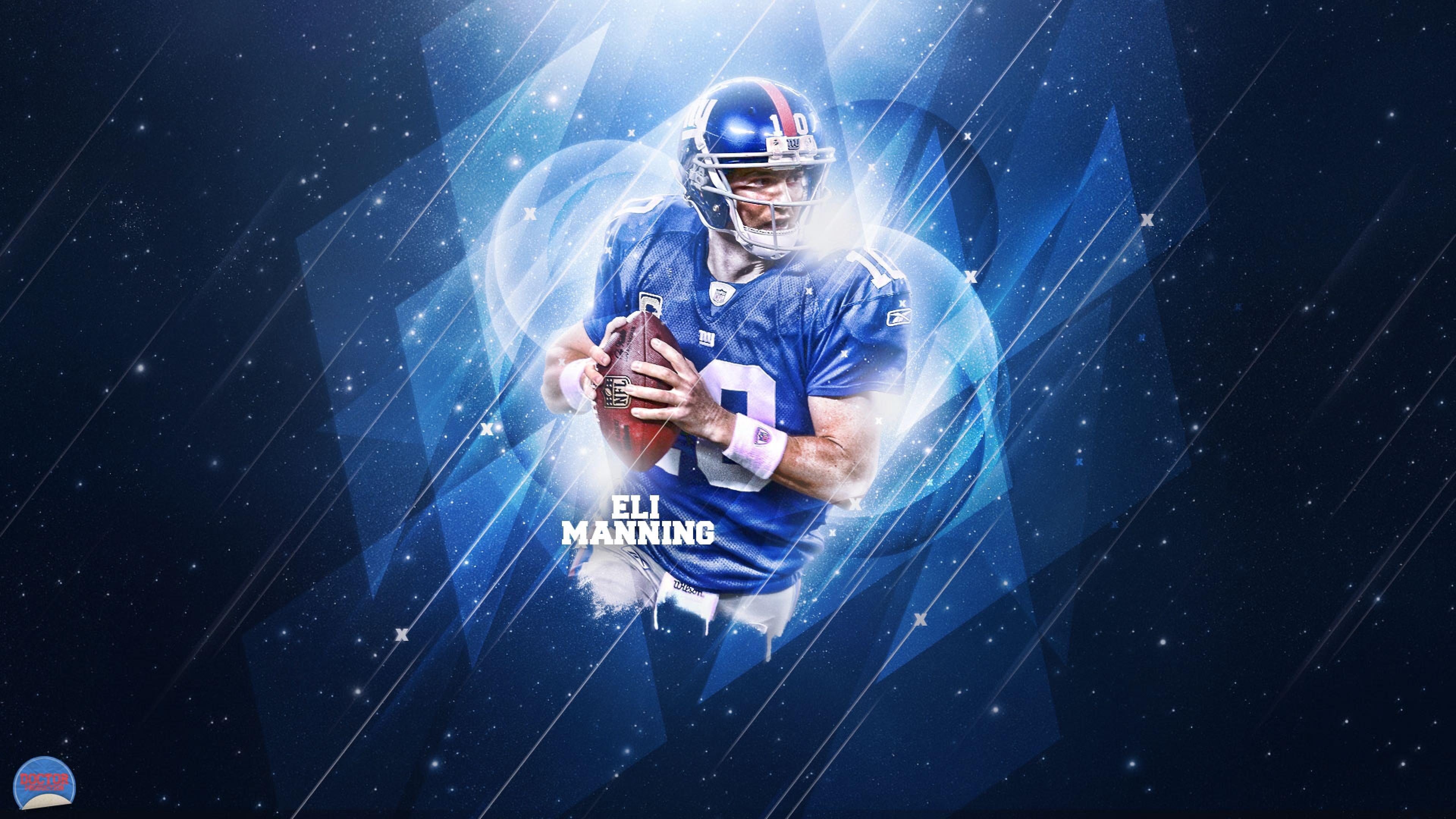 Preview wallpaper eli manning, 2015, american football, nfl, new york giants  3840×2160