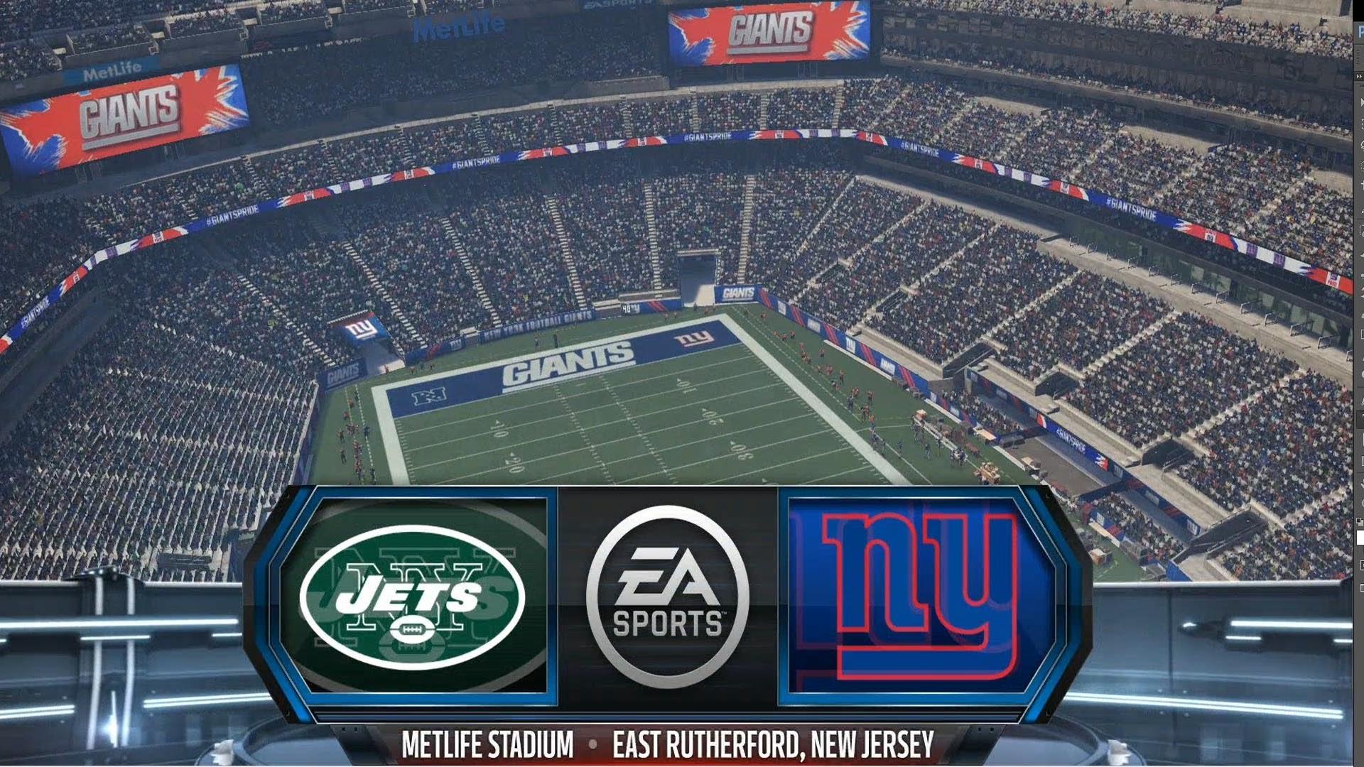 Madden NFL 16 – New York Jets vs New York Giants Gameplay [ HD ] – YouTube