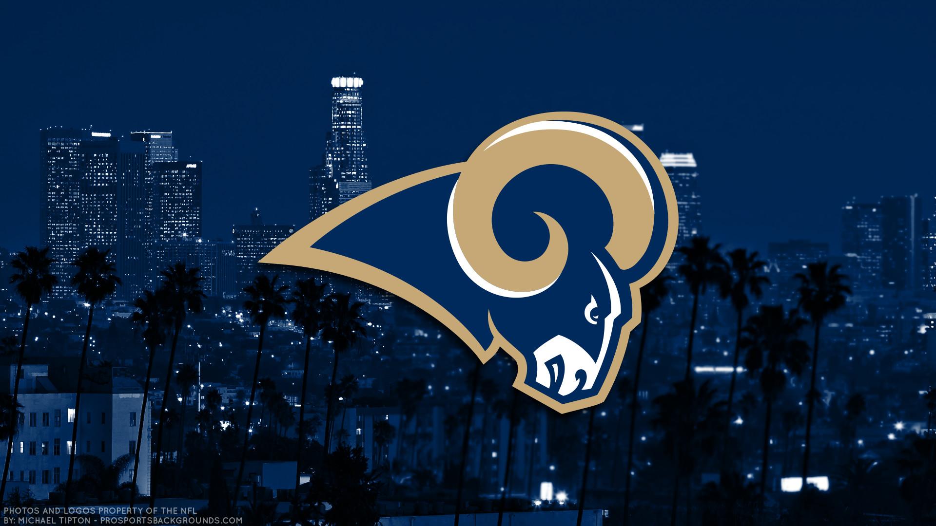 … Los Angeles Rams 2017 football logo wallpaper pc desktop computer