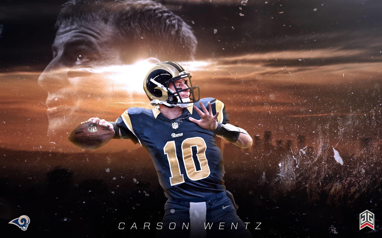 Carson Wentz LA Rams wallpaper …