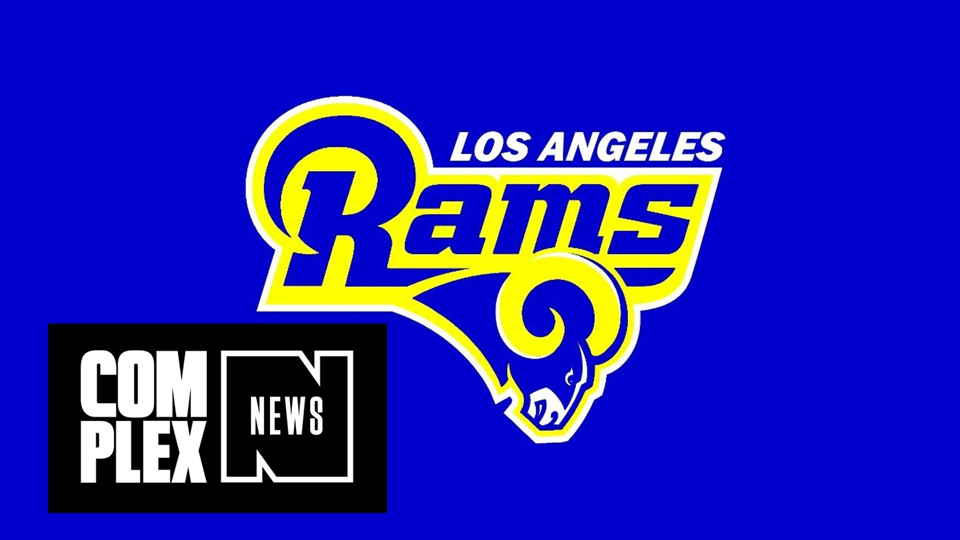 Pour One Out for My St. Louis Rams: Team to Relocate to Los Angeles –  YouTube