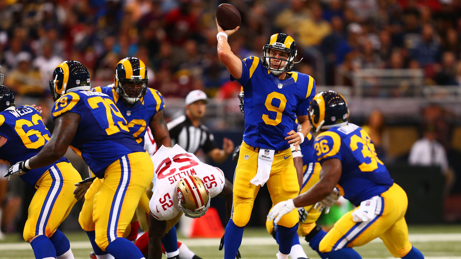 Rams be headed back to Los Angeles? The owner of the St. Louis Rams