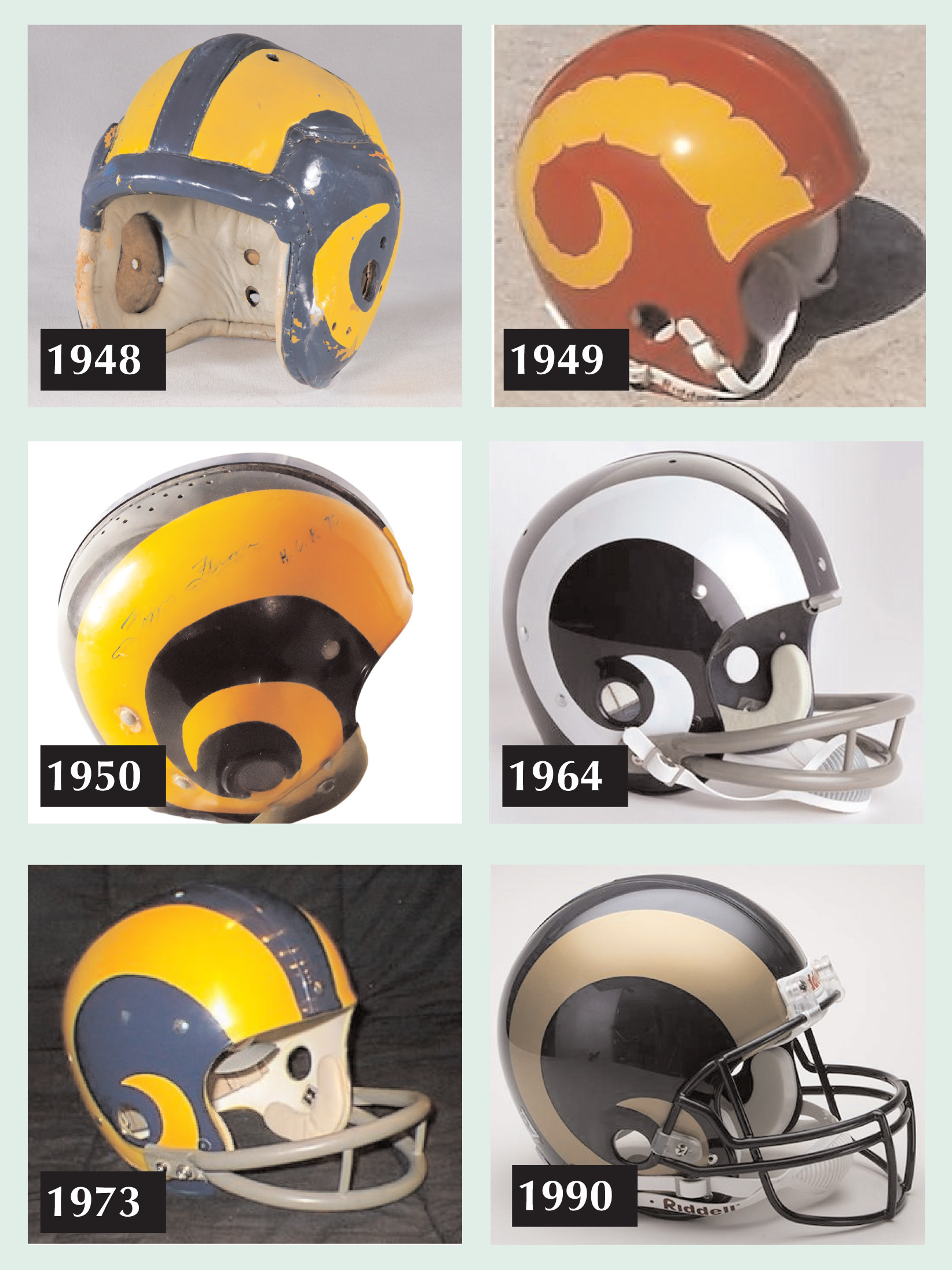 Fullback-Fred-Gehrke-of-the-Cleveland-Rams-designed-