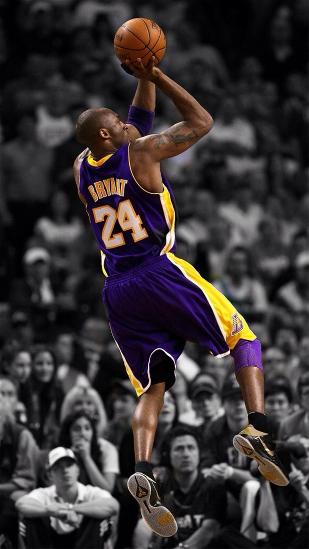 NBA Super Star Brant Kobe Show iPhone 6 wallpaper