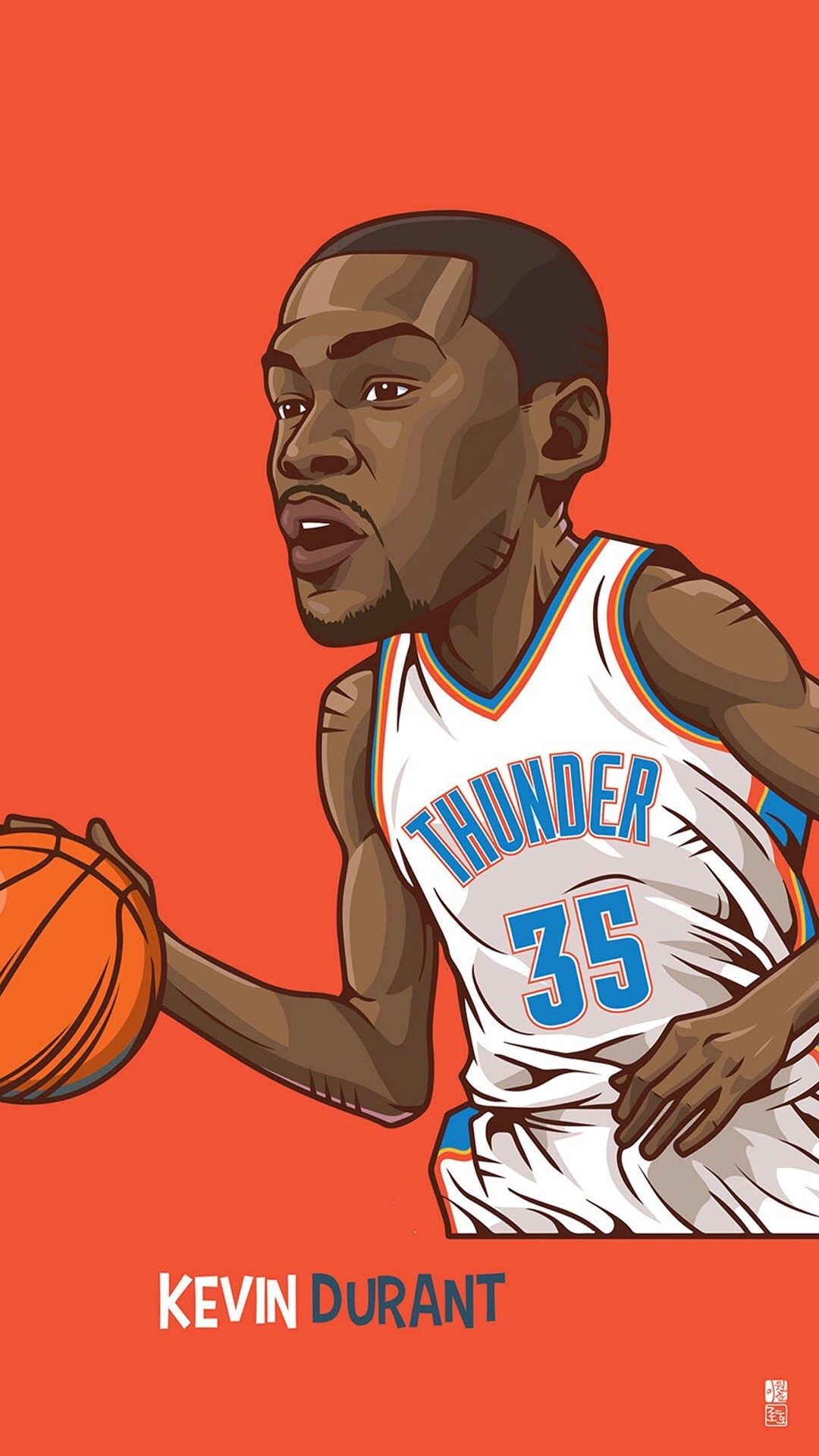 Download Kevin Durant 1080 x 1920 Wallpapers – 4465698 – nba basketball  durant thunder | mobile9