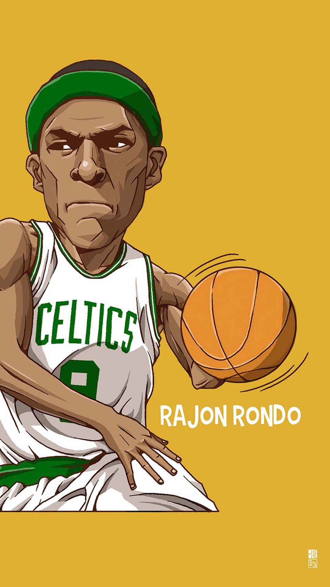 Tap to see Collection of Famous NBA Basketball Players Cute Cartoon  Wallpapers for iPhone.
