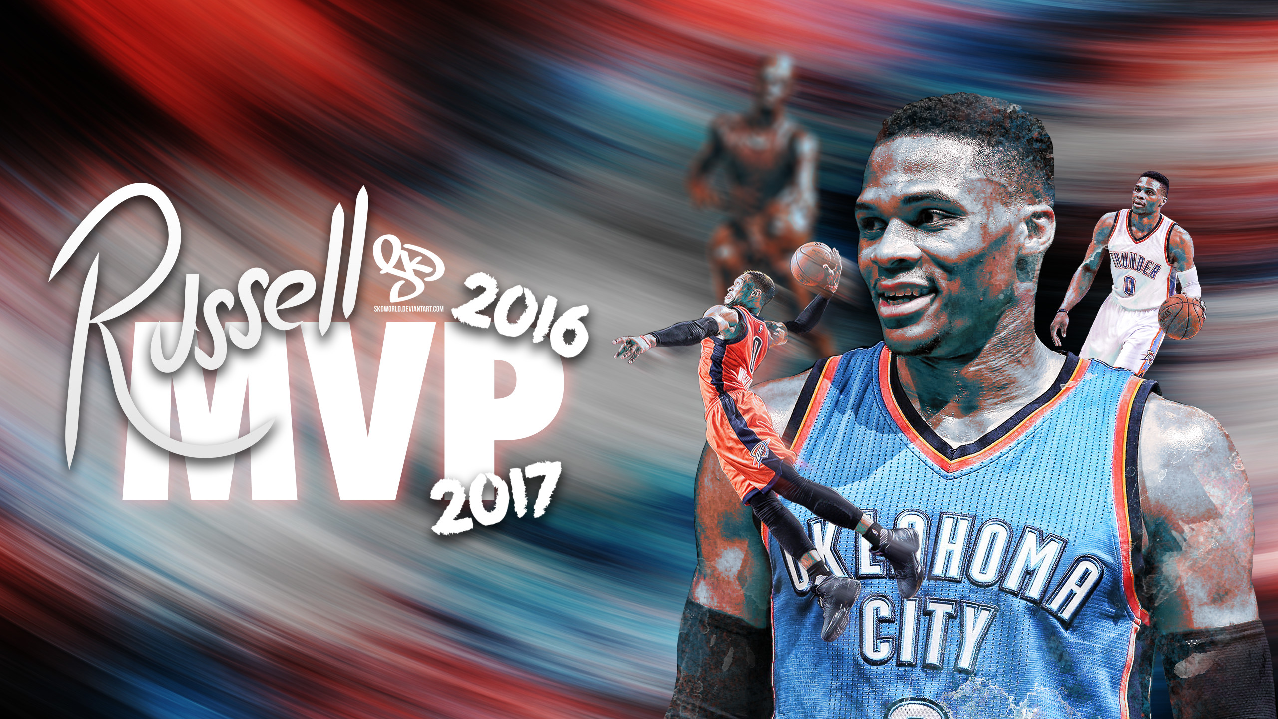 … Russell Westbrook: 2016-2017 NBA MVP by SkdWorld