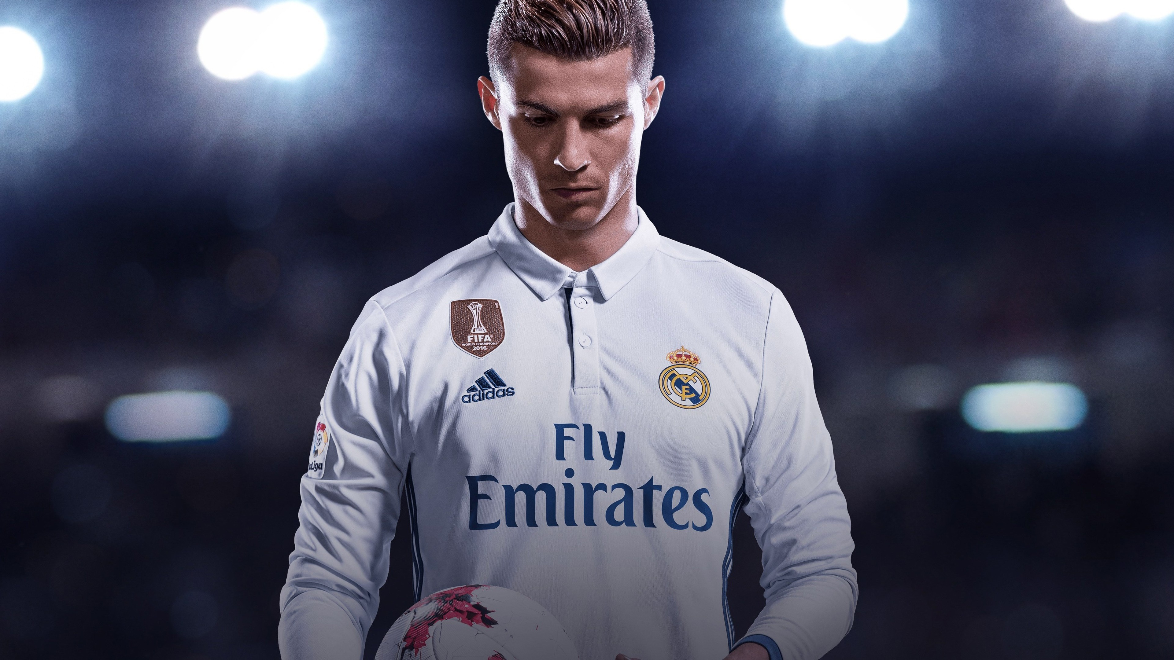 Ultra HD 4K resolutions:3840 x 2160 Original. Description: Download Cristiano  Ronaldo FIFA 18 Games wallpaper …