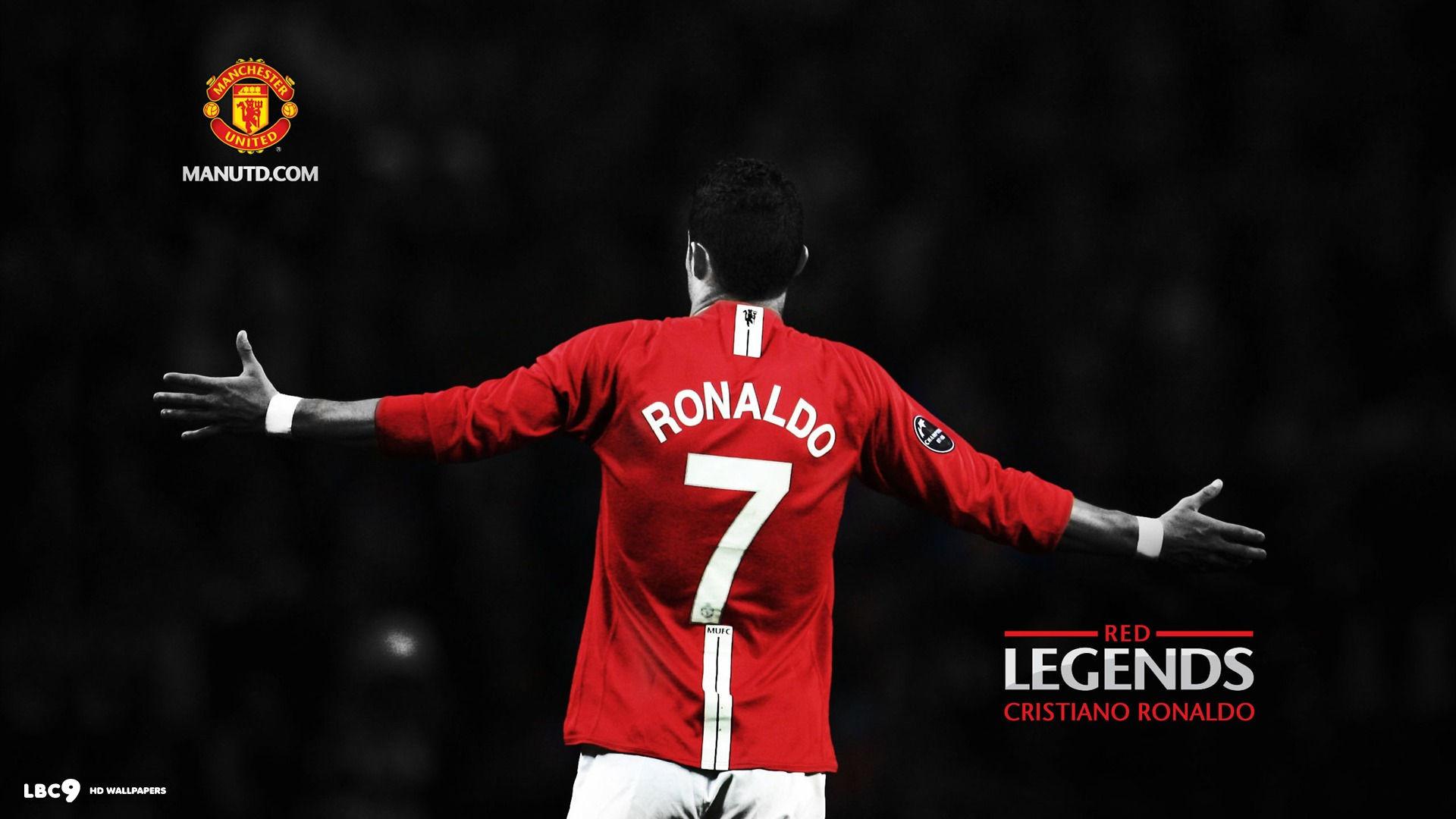 cristiano ronaldo red legends manchester united
