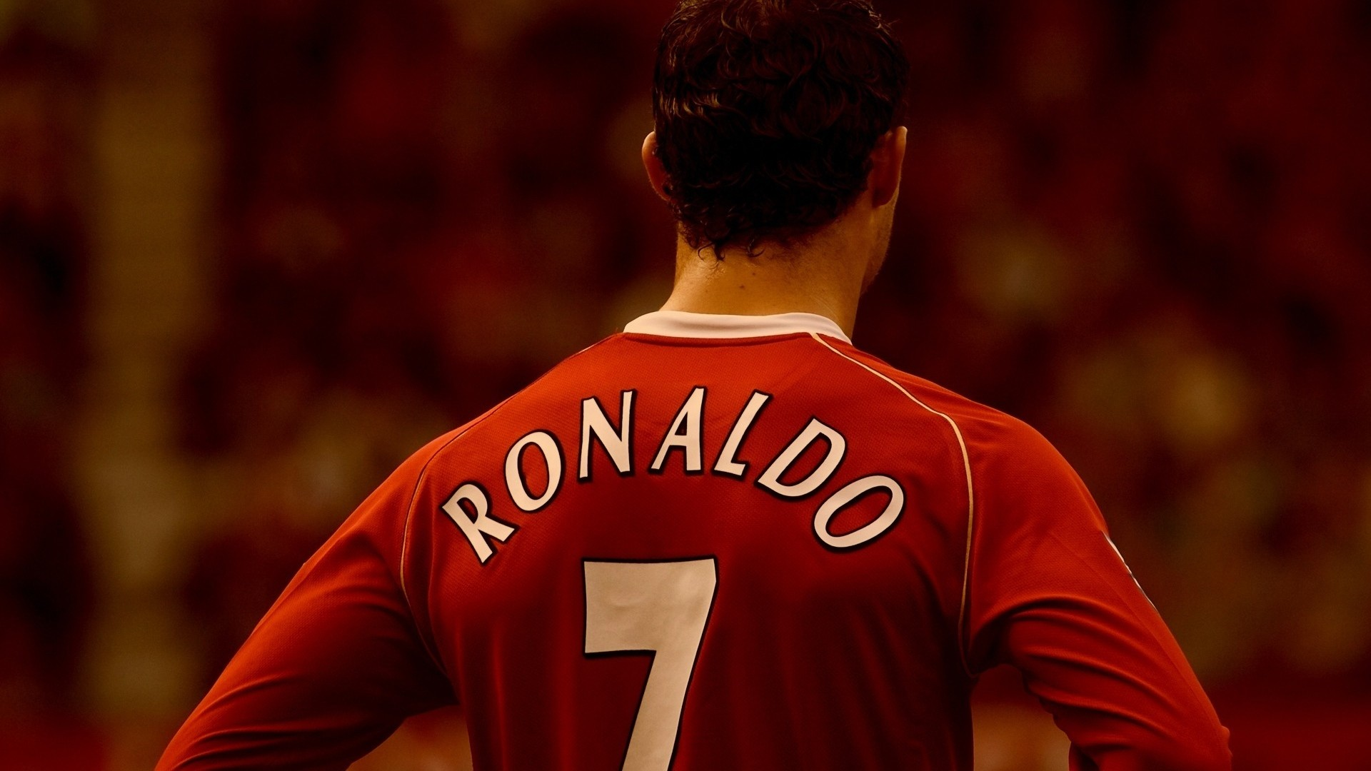 Wallpaper ronaldo, back, form, football