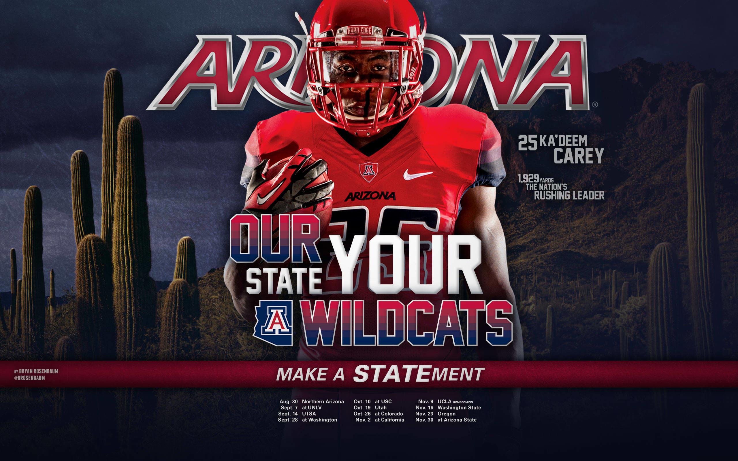 2013 Arizona Football Wallpapers – The University of Arizona