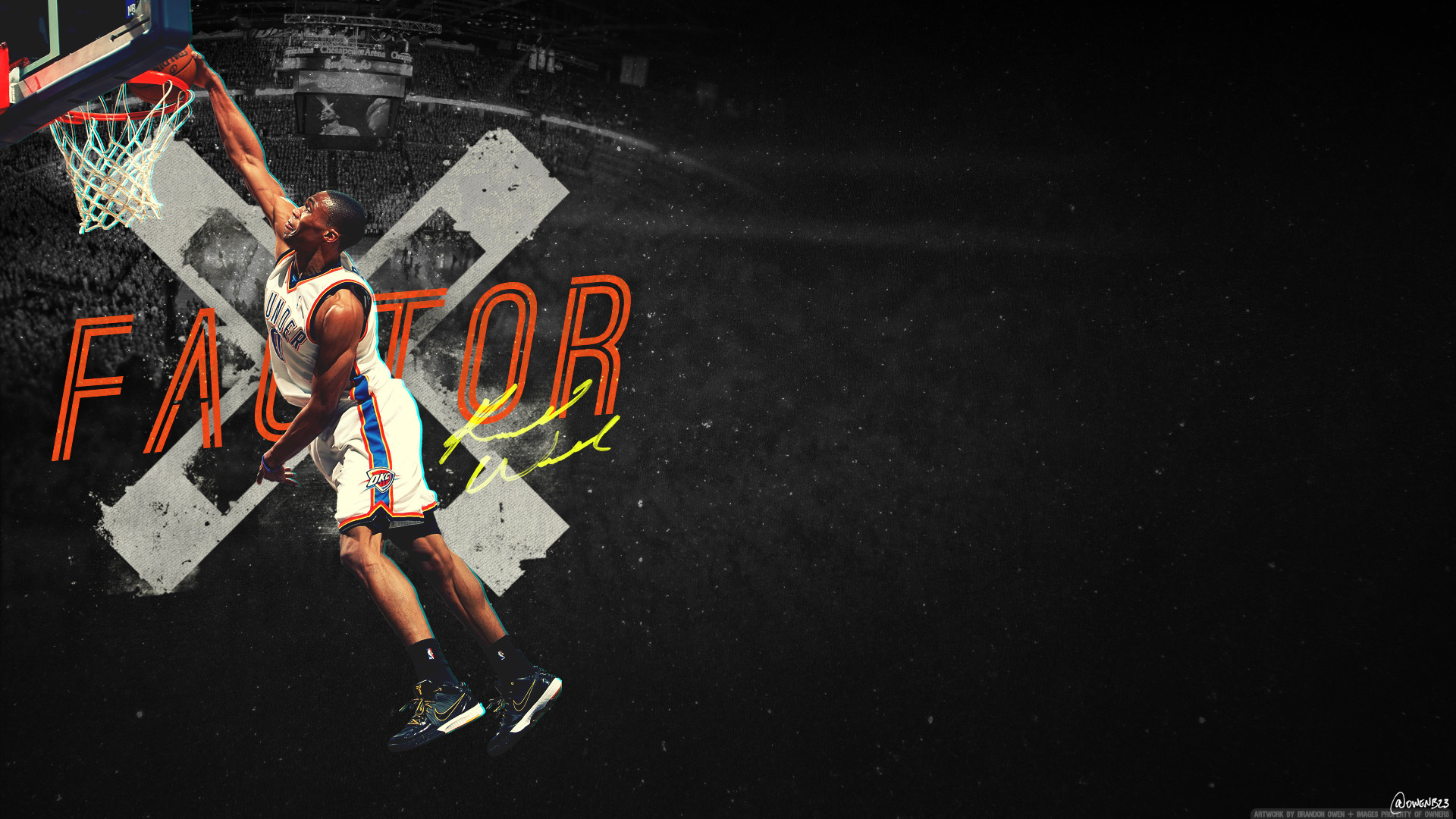 Go Back > Images For > Russell Westbrook Dunk Wallpaper