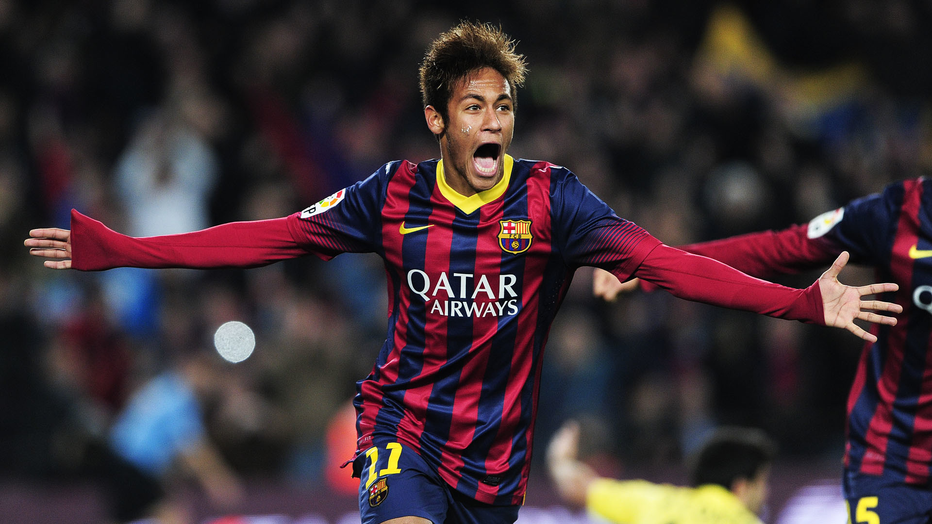 Neymar Full HD Wallpaper 1920×1080