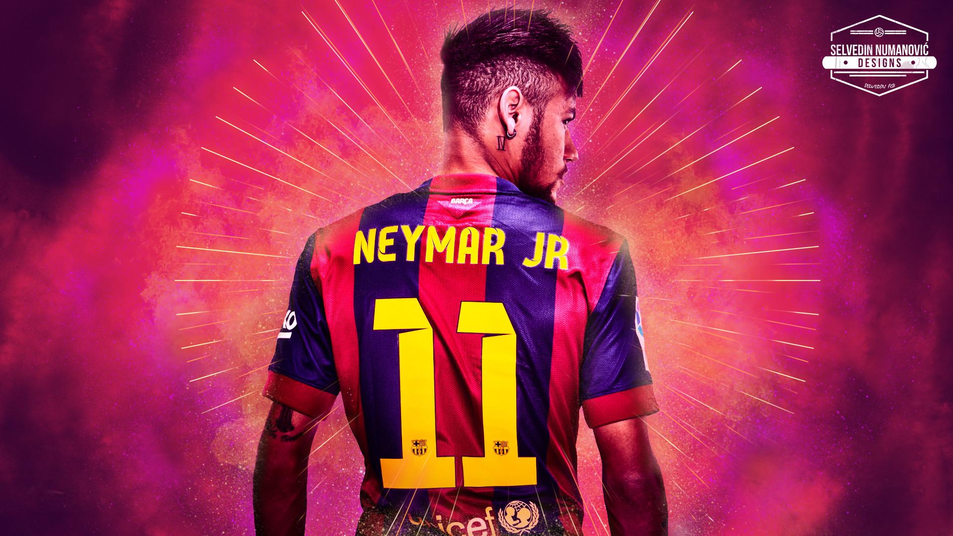 … Neymar Jr. HD wallpaper 2015 by SelvedinFCB