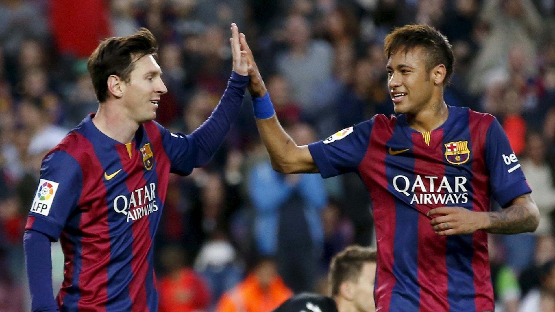 Barcelona Lionel Messi E Neymar. Wallpaper …