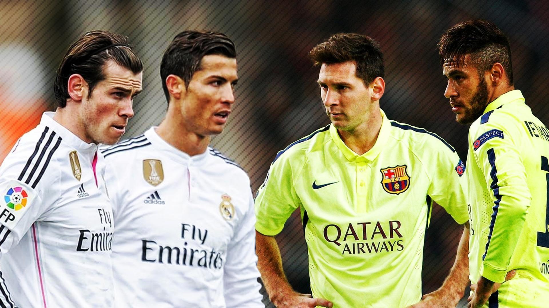 Lionel Messi & Neymar vs Ronaldo & Bale 2015 ○ Skills & Goals Battle | HD –  YouTube