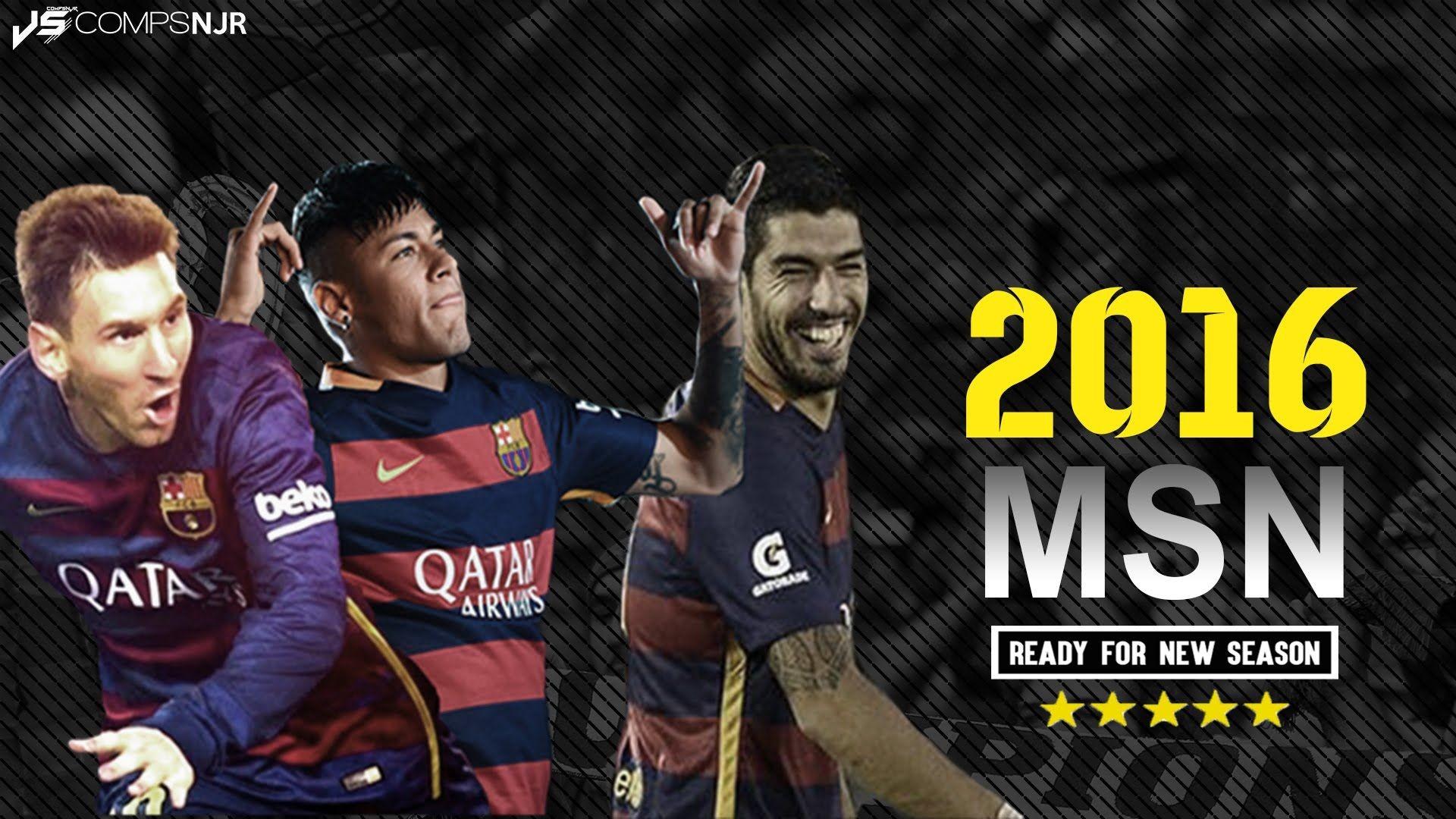 Messi, Suarez & Neymar ? Ready for 2015/2016 Season .