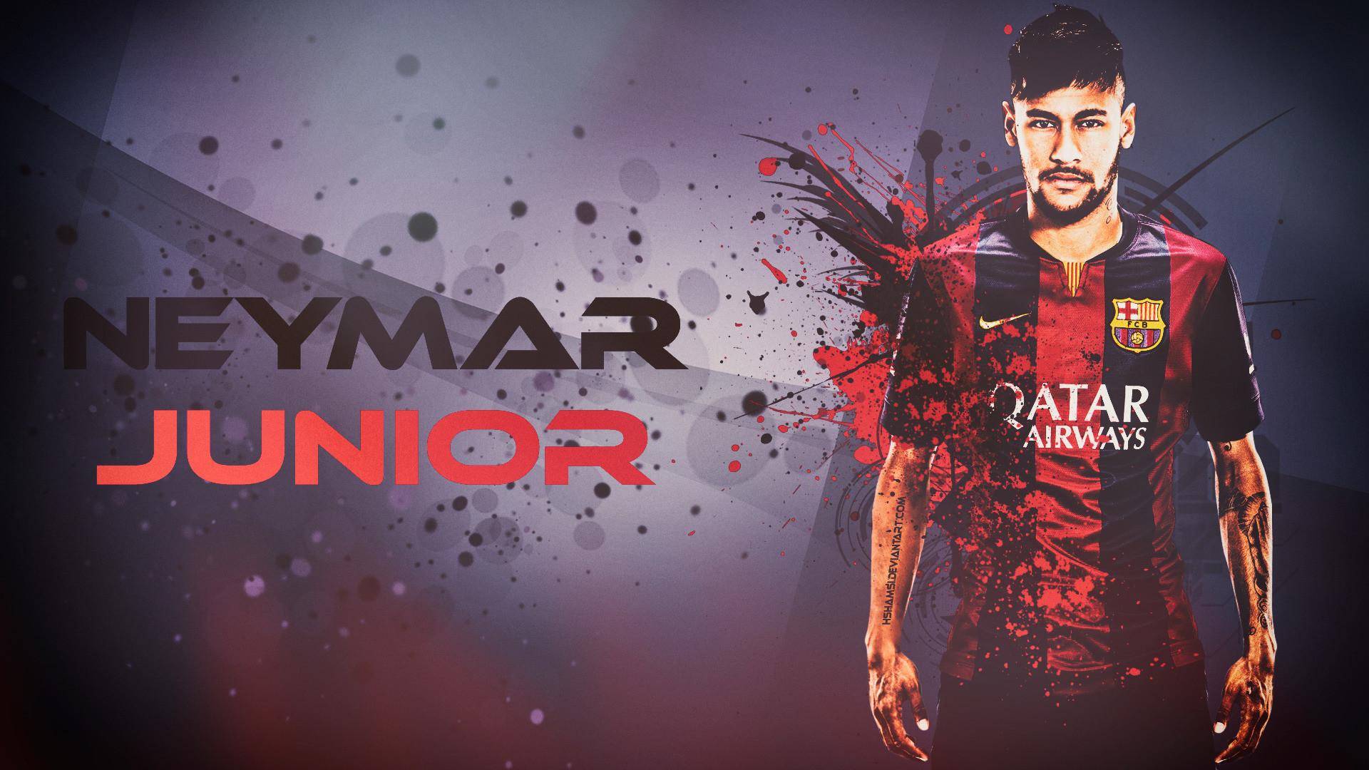 Neymar Junior FC Barcelona Wallpaper