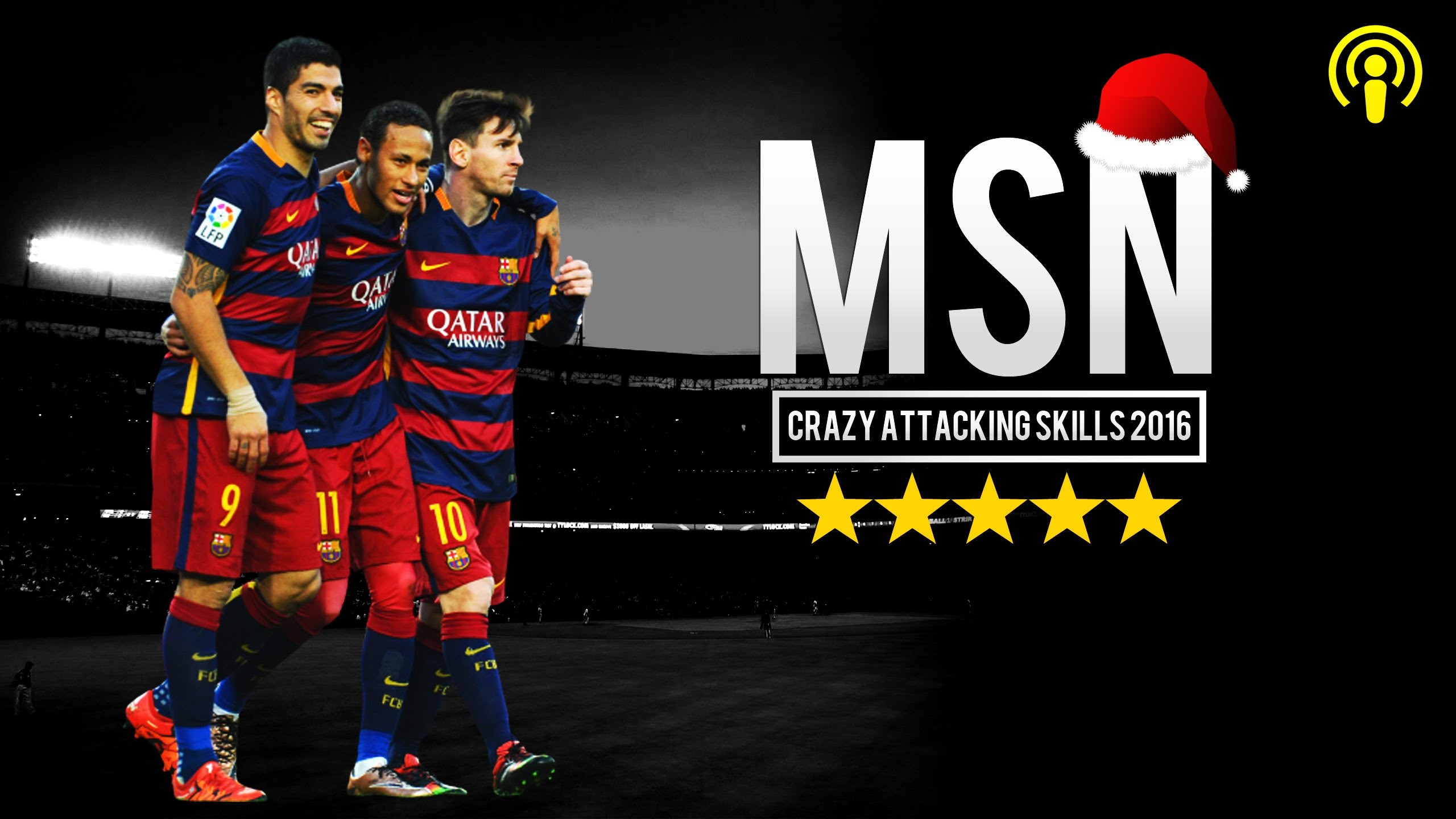 MSN Show 2015/16 ▻Messi ○ Suarez ○ Neymar Jr – Crazy Attacking Skills | HD  – YouTube