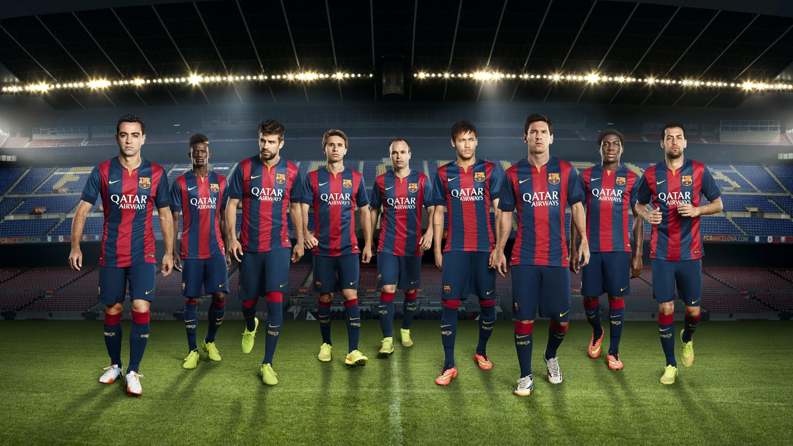FC Barcelona, Andres Iniesta, Camp Nou, Gerard Pique, Lionel Messi, Neymar