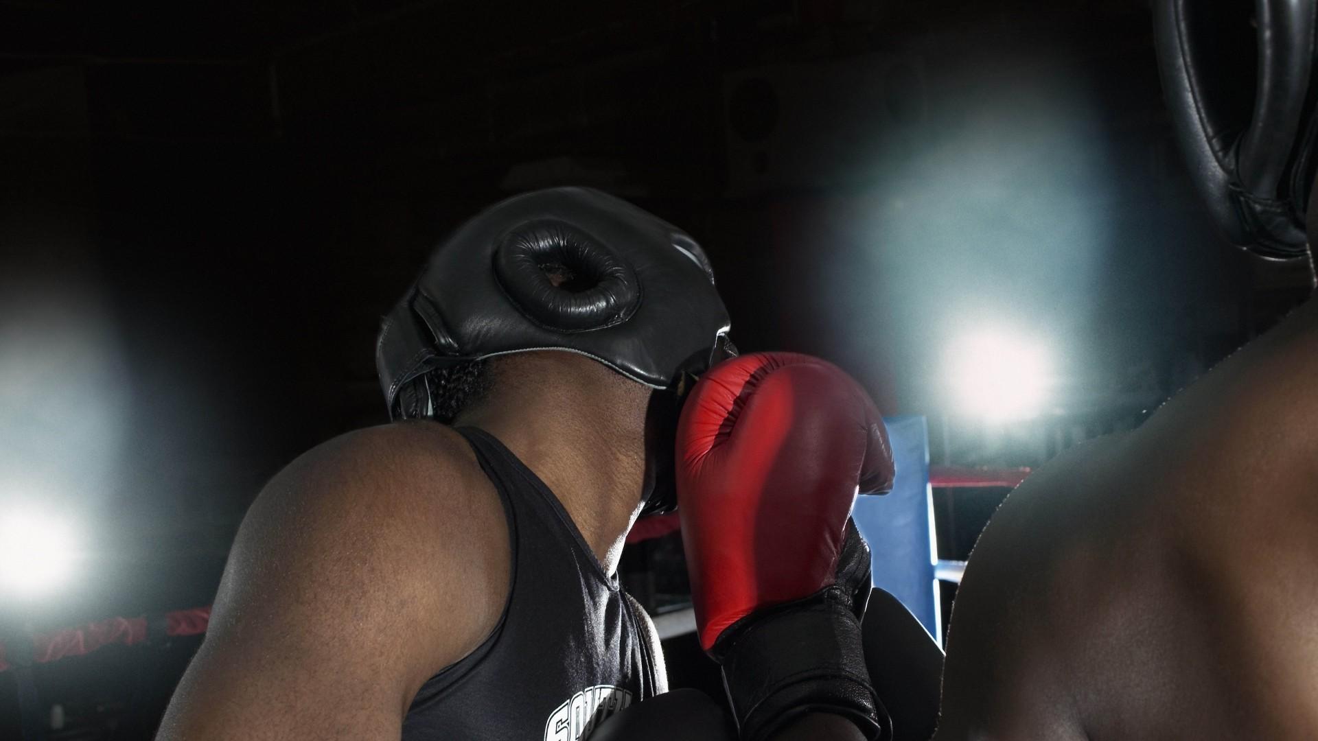 Preview wallpaper boxing, kick, left, ring 1920×1080