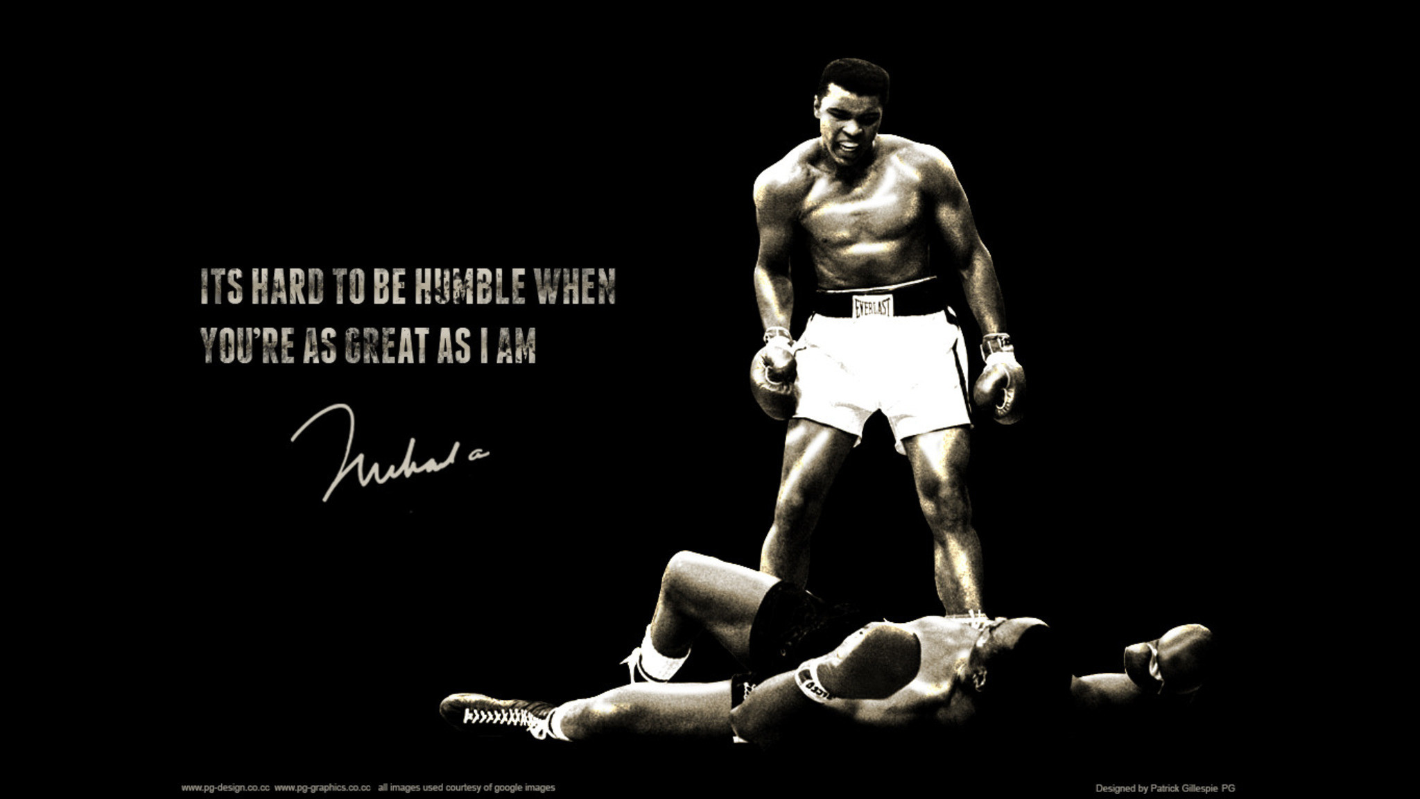 … HD Muhammad Ali Wallpaper Knocking Down …