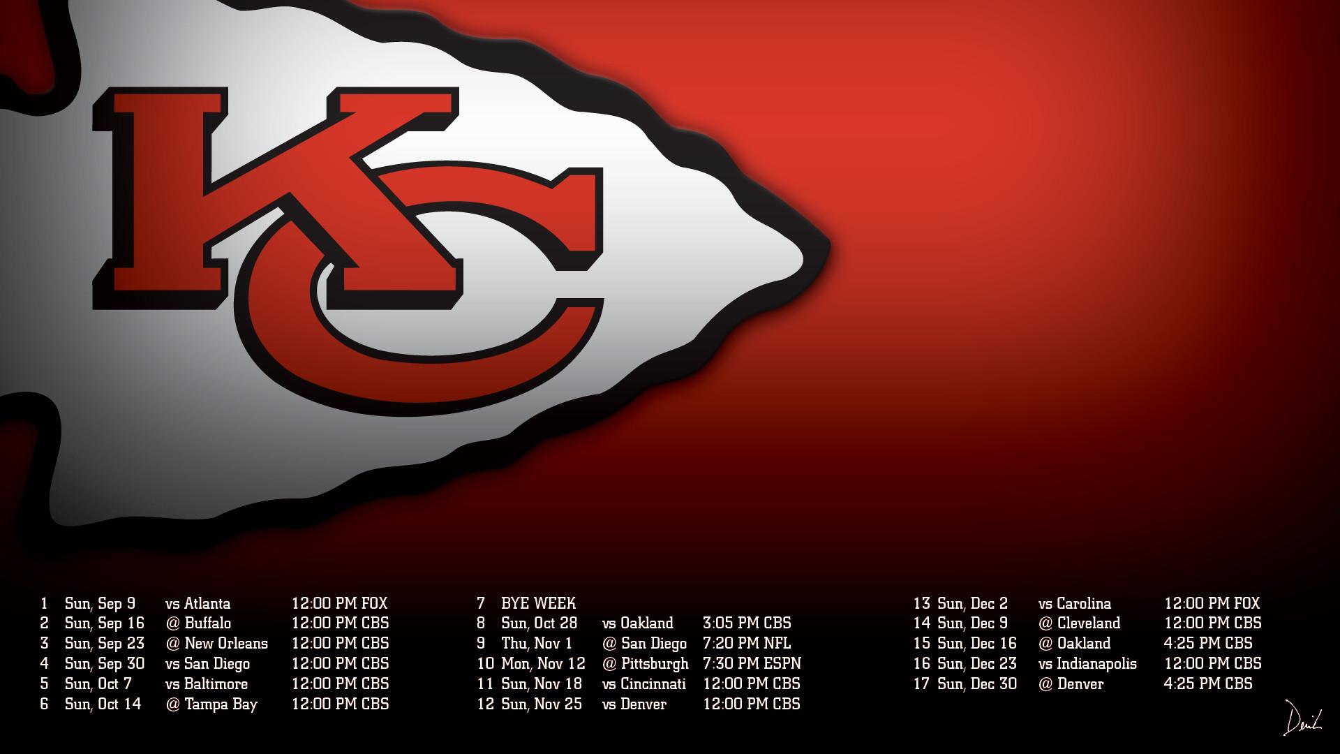 Kansas City Chiefs Screensavers
