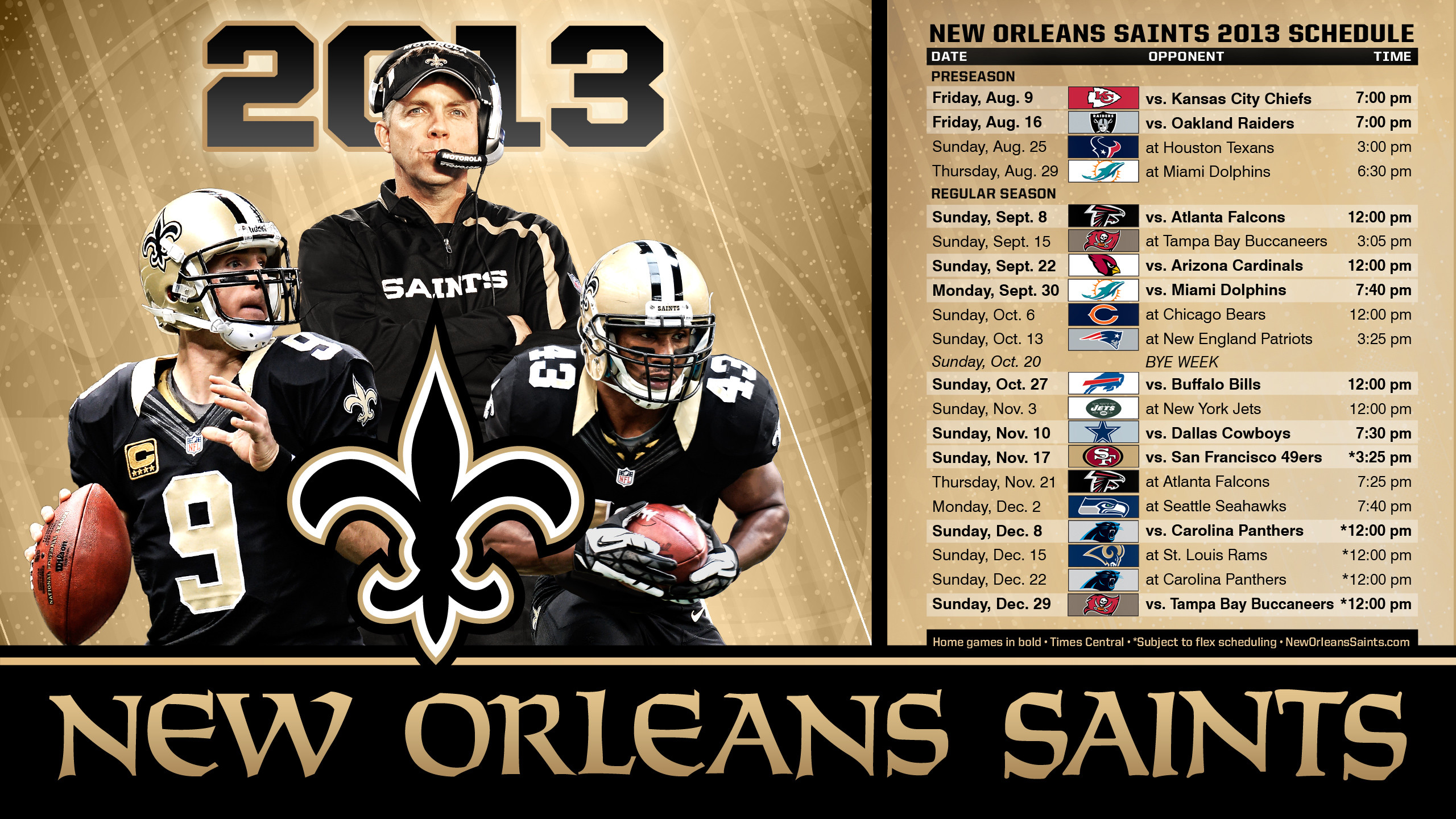 New Orleans Saints | Wallpapers