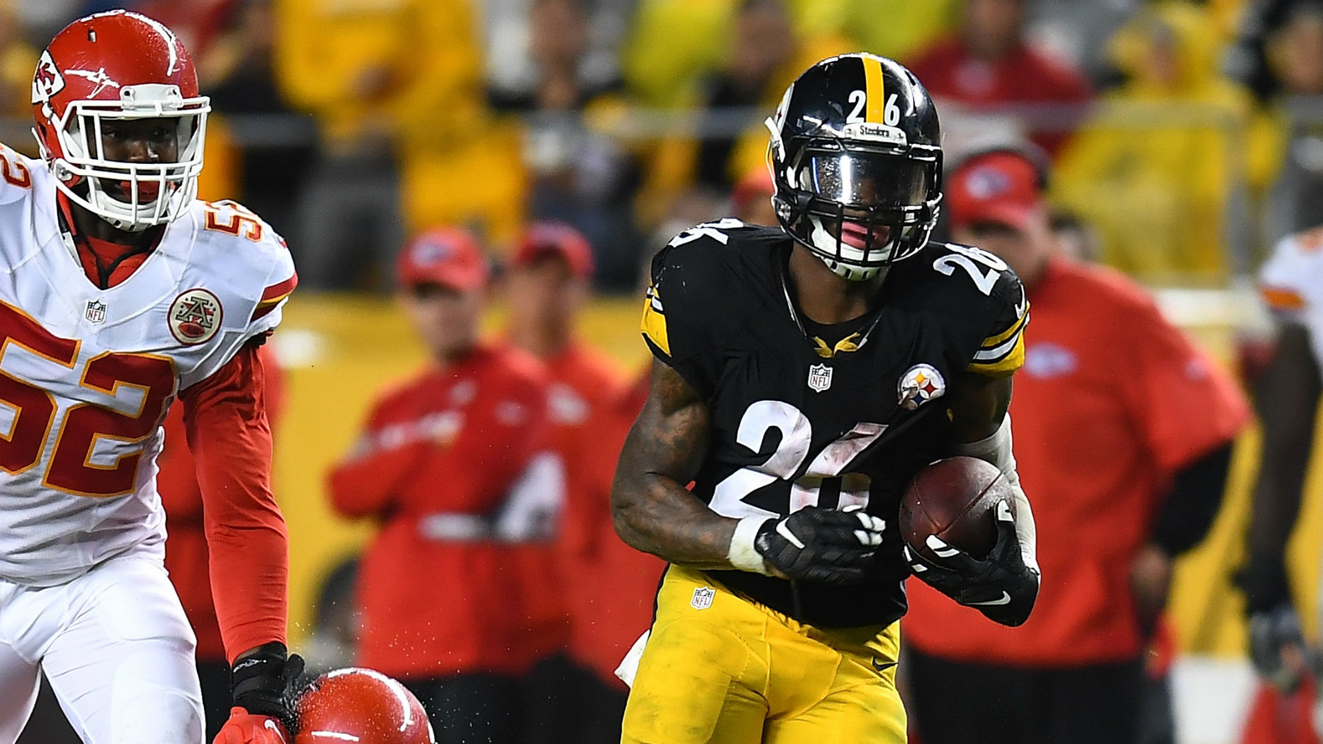 Le'Veon Bell's value is crystal clear to Steelers opponents, including  Chiefs | NFL | Sporting News
