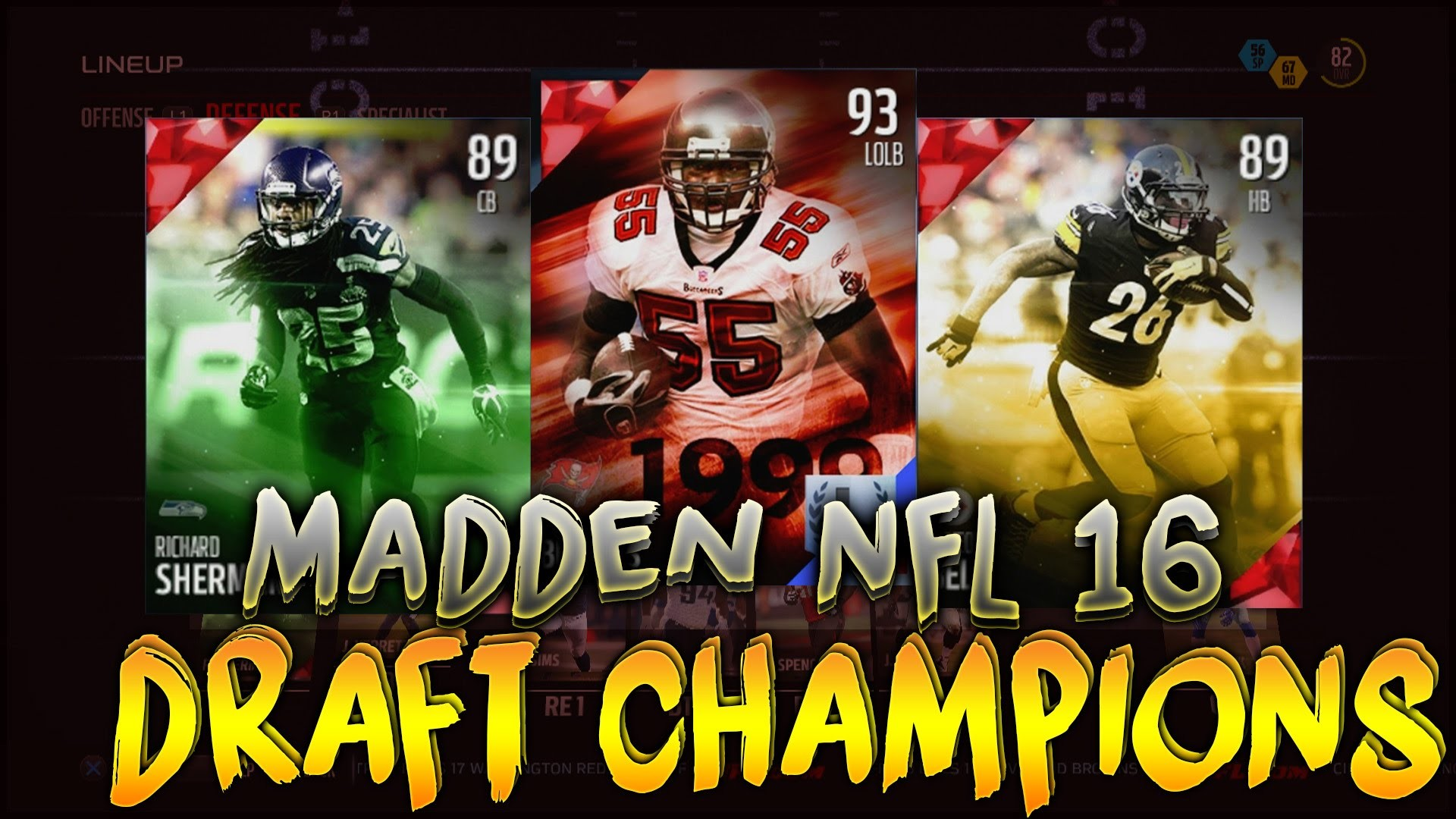Madden 16 Ultimate Team -DRAFT CHAMPIONS- First Game!! Le'Veon Bell  Explodes! – YouTube