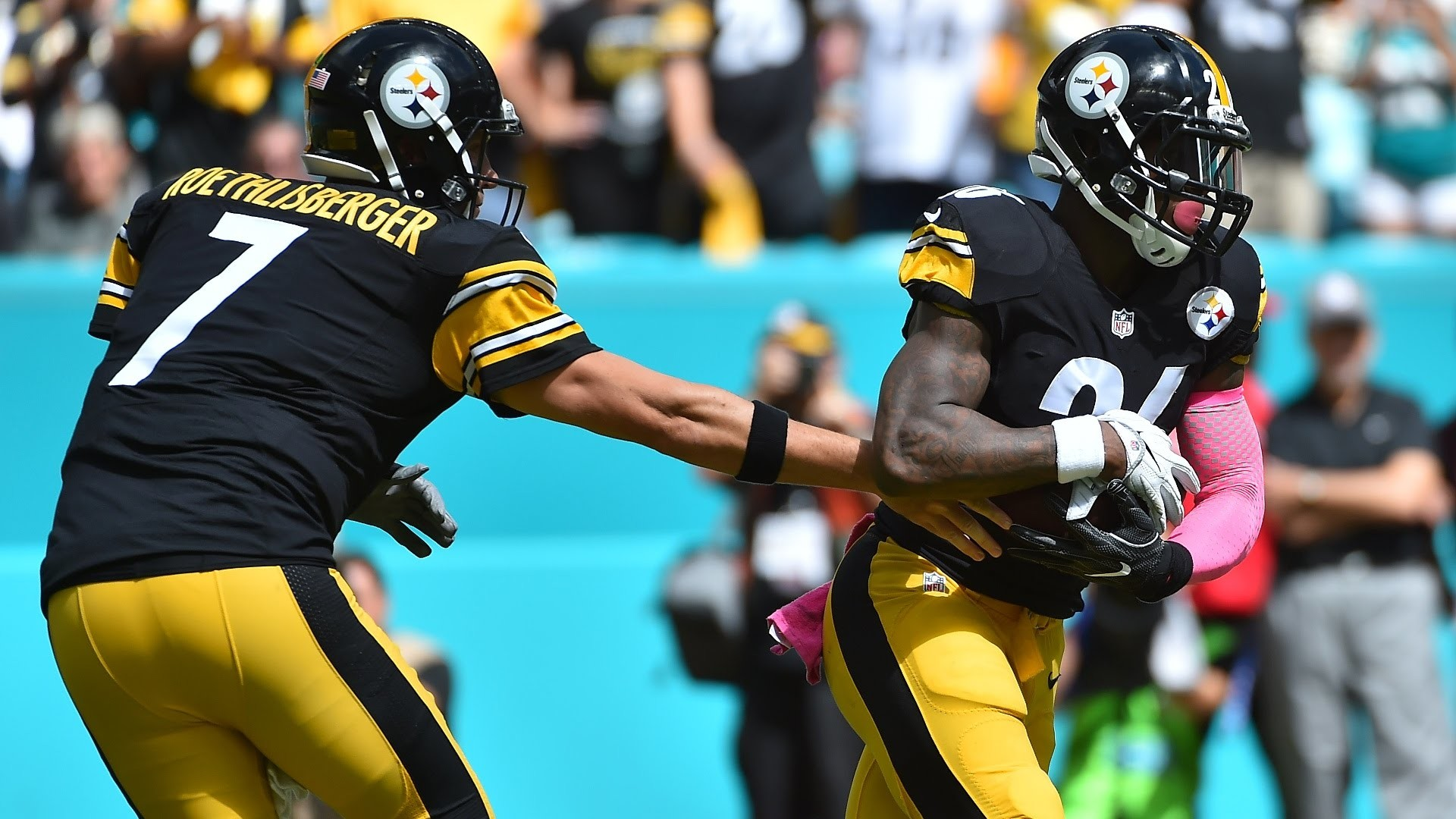 Big Ben Talks Le'Veon for MVP | Listen to Steelers QB Ben Roethlisberger  campaign for Le'Veon Bell