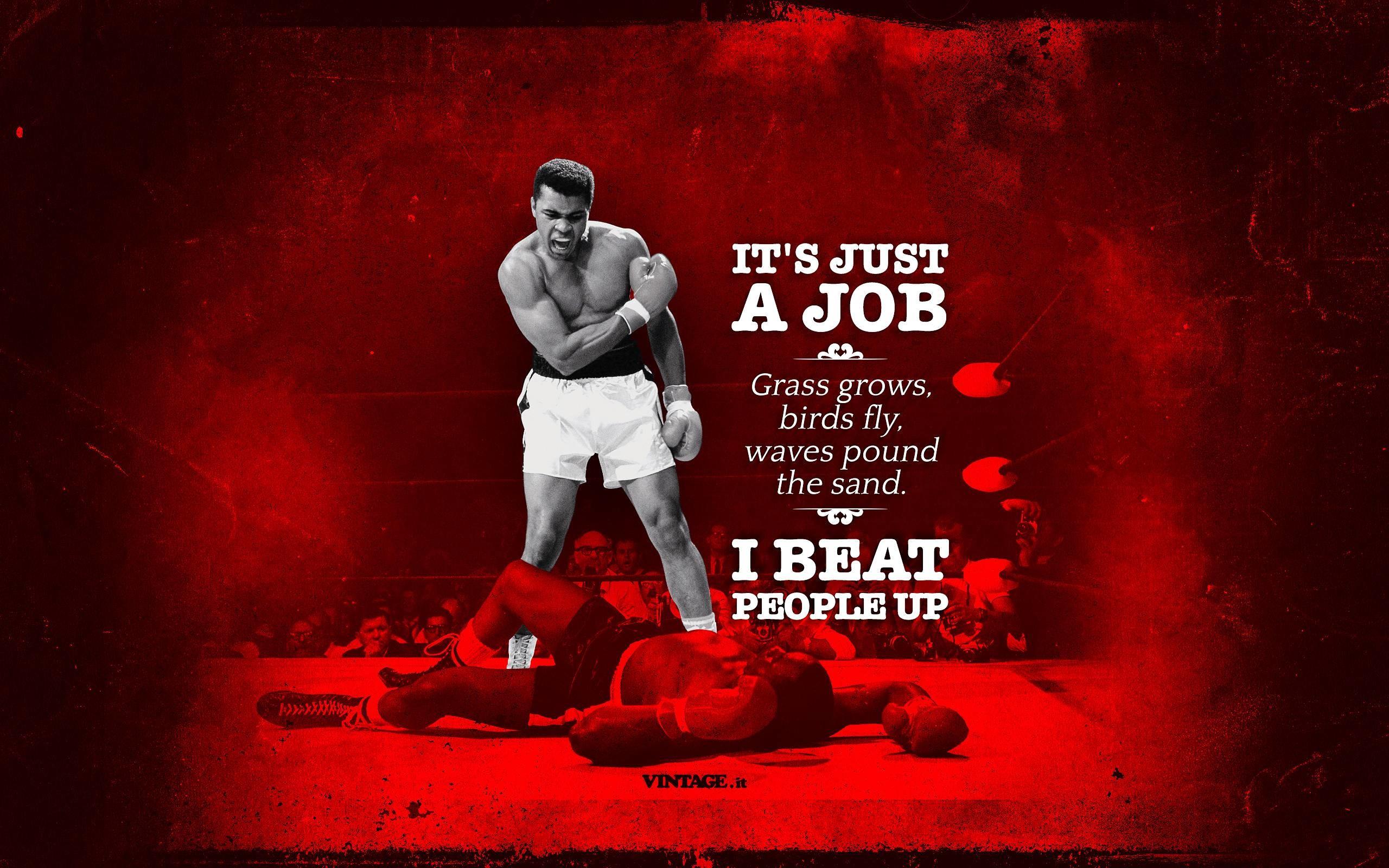 … Muhammad Ali Wallpaper