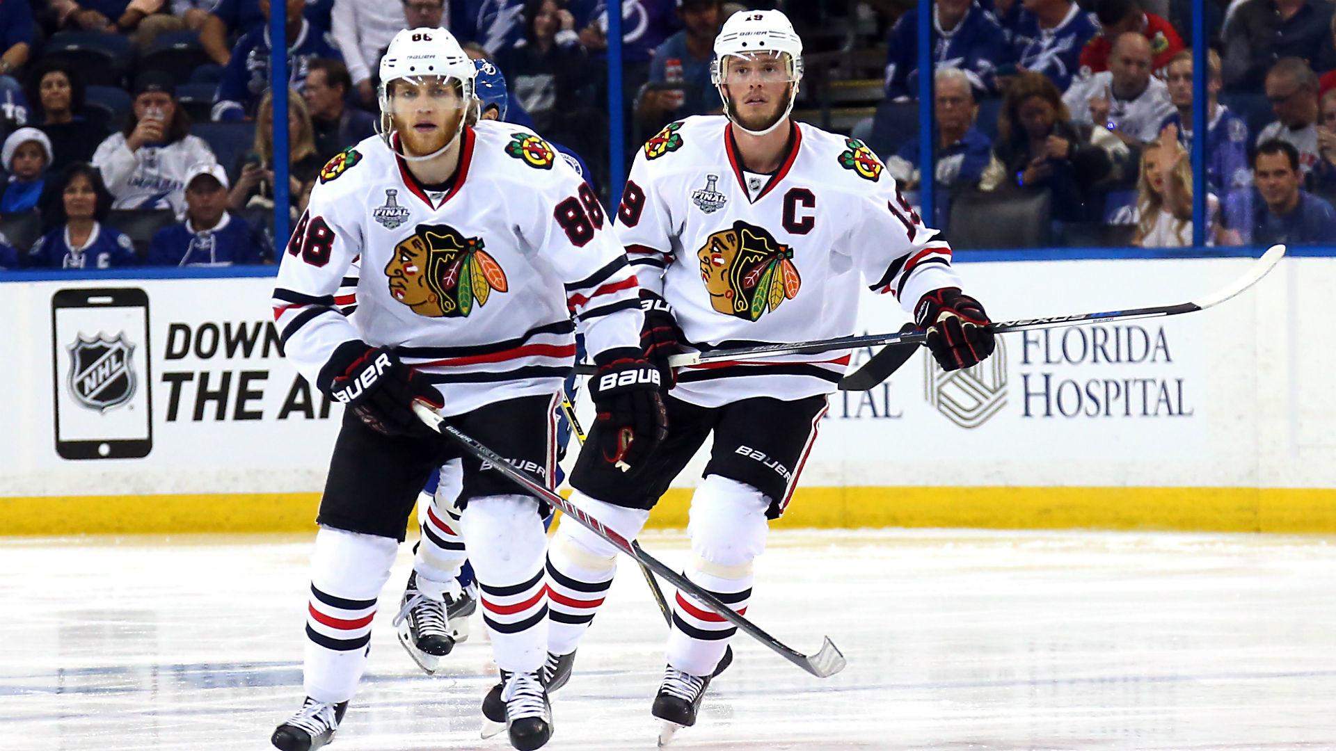 Blackhawks' fix should start with splitting Patrick Kane, Jonathan Toews |  NHL | Sporting News