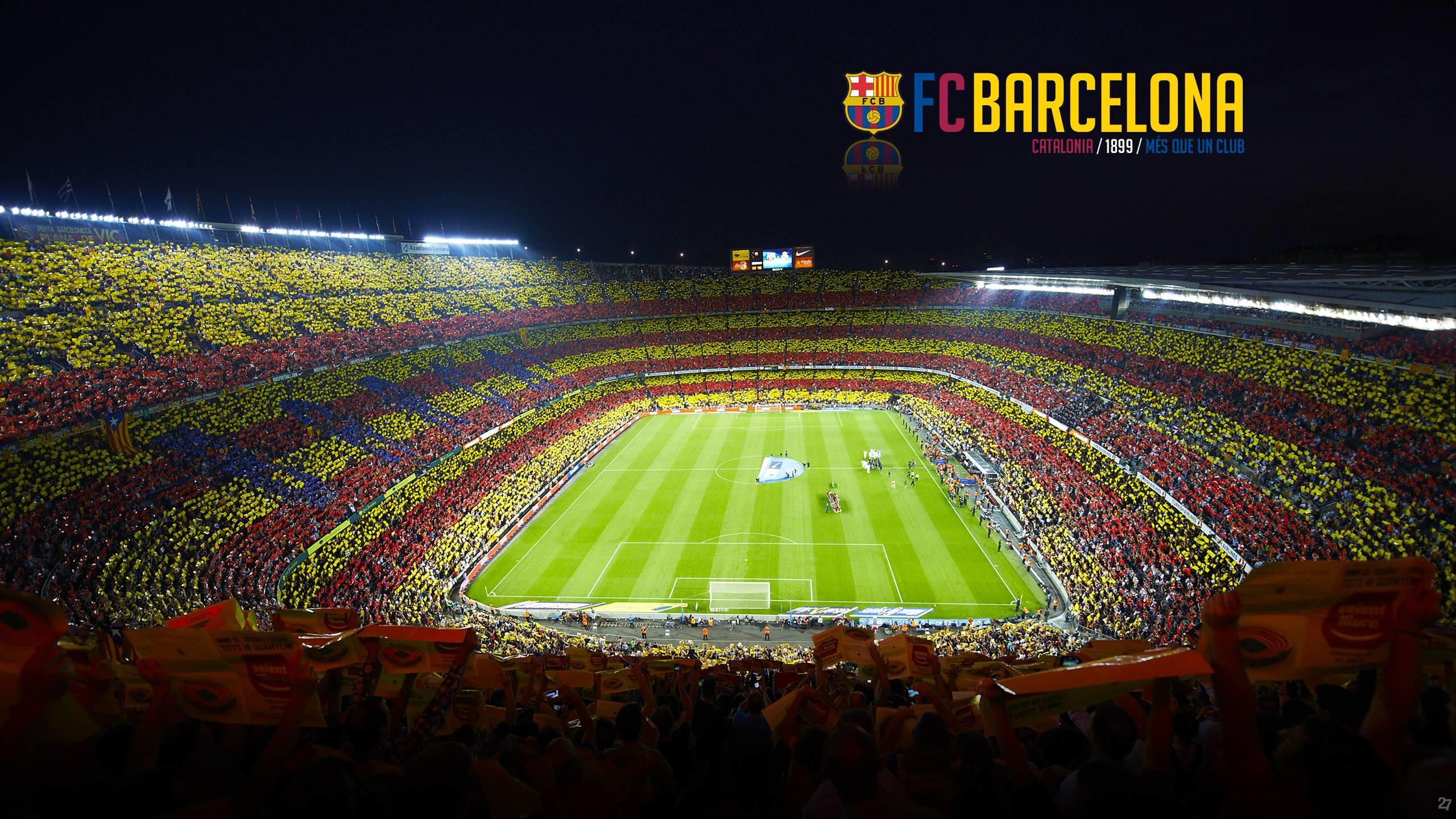 Camp Nou Barcelona Football Blog Wallpapers