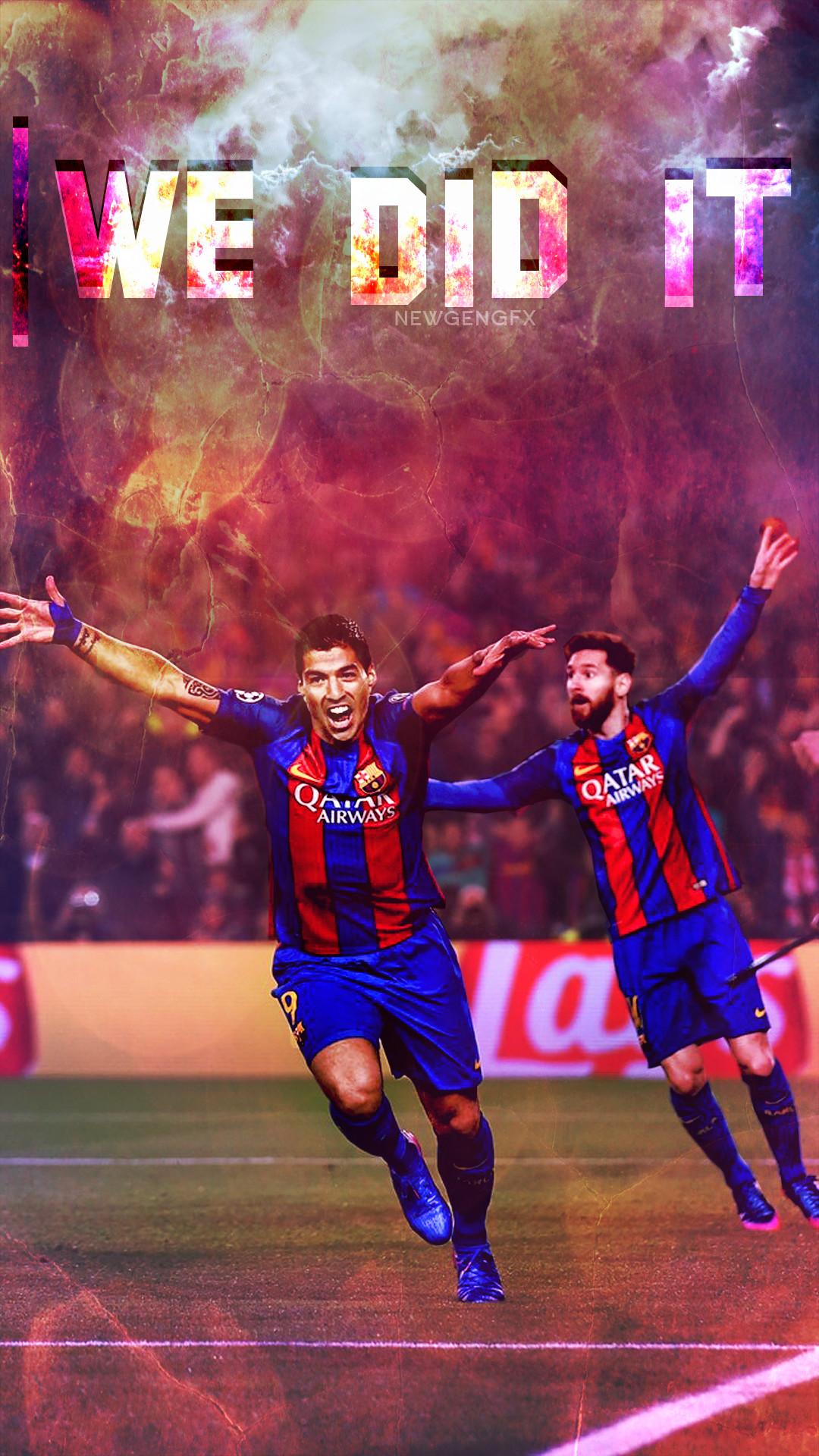 Luis Suarez-Leo Messi Mobile wallpaper #Luis_suarez #Messi #Fcbarcelona