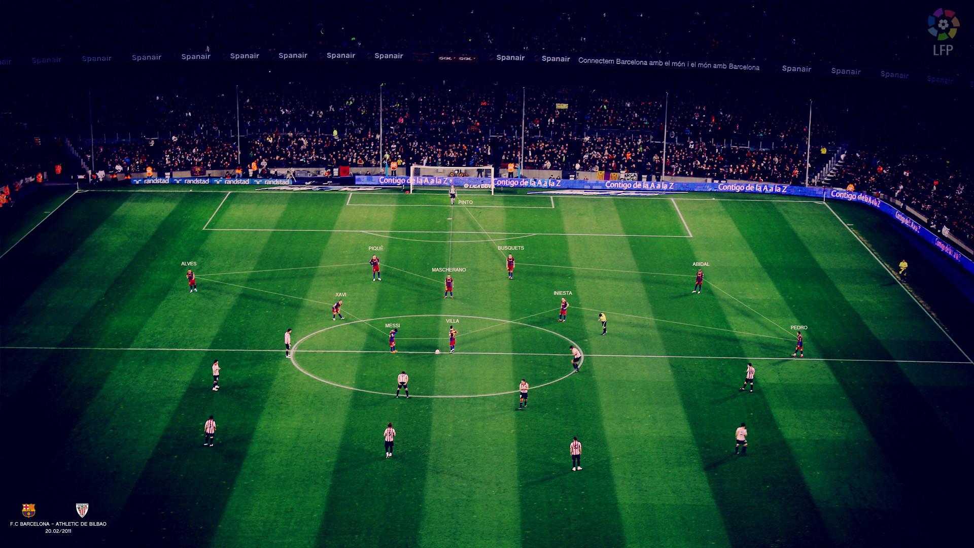 Soccer Field Stadium barcelona wallpaper | | 125448 | WallpaperUP