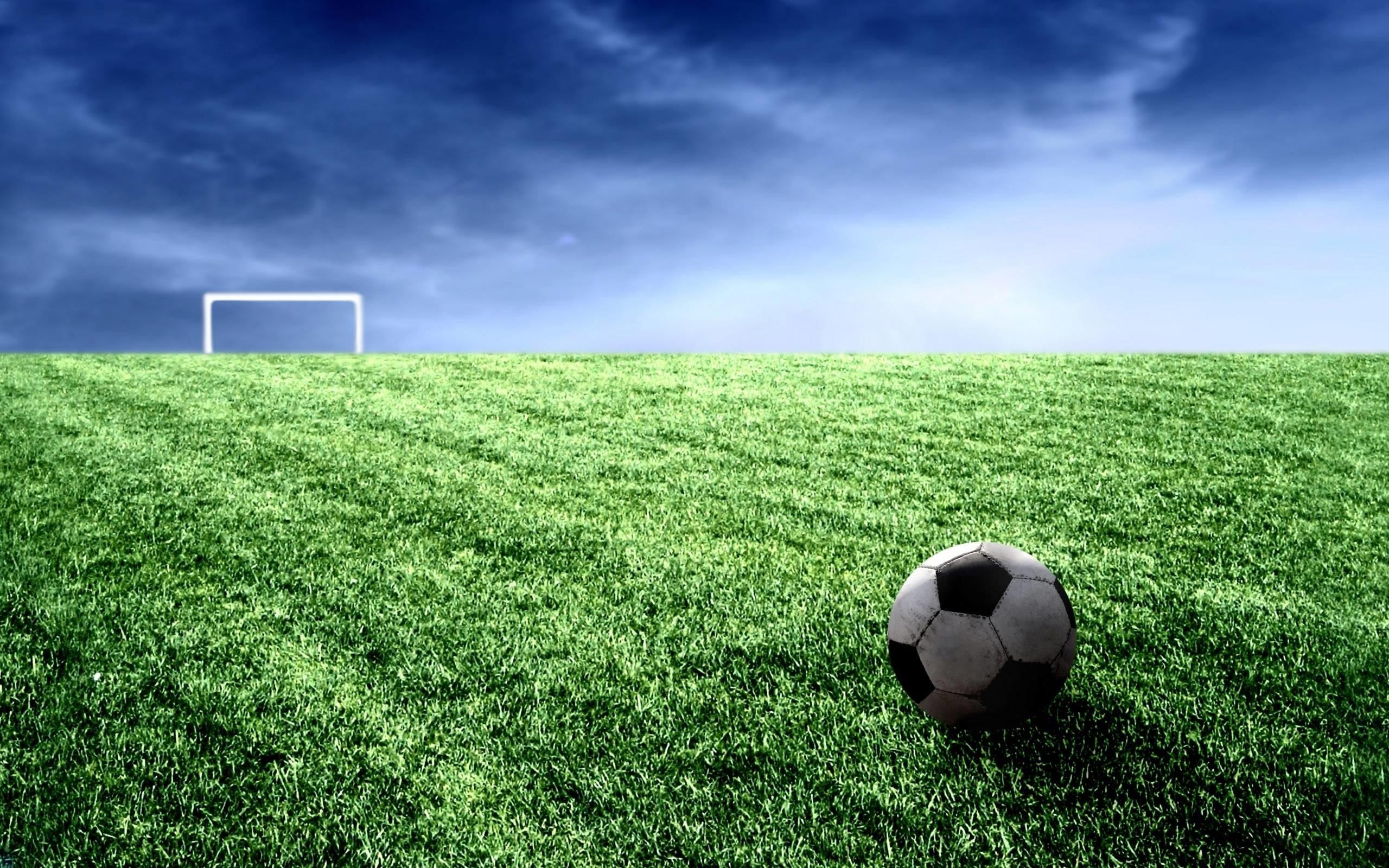 Cool Soccer Ball And Field Widescreen 2 HD Wallpaperscom