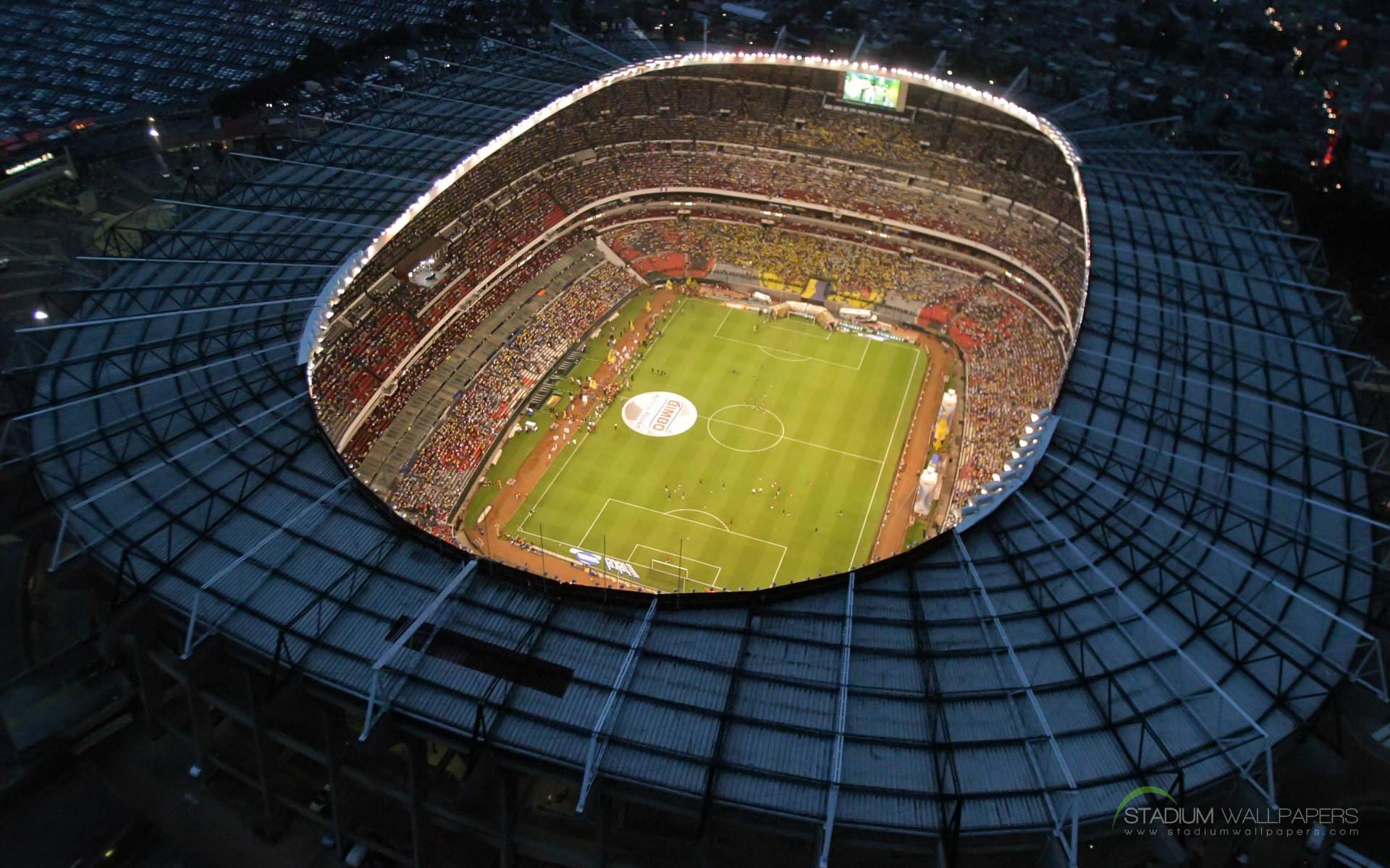 Estadio Azteca Mexico HD Widescreen Wallpaper · Soccer StadiumFootball …