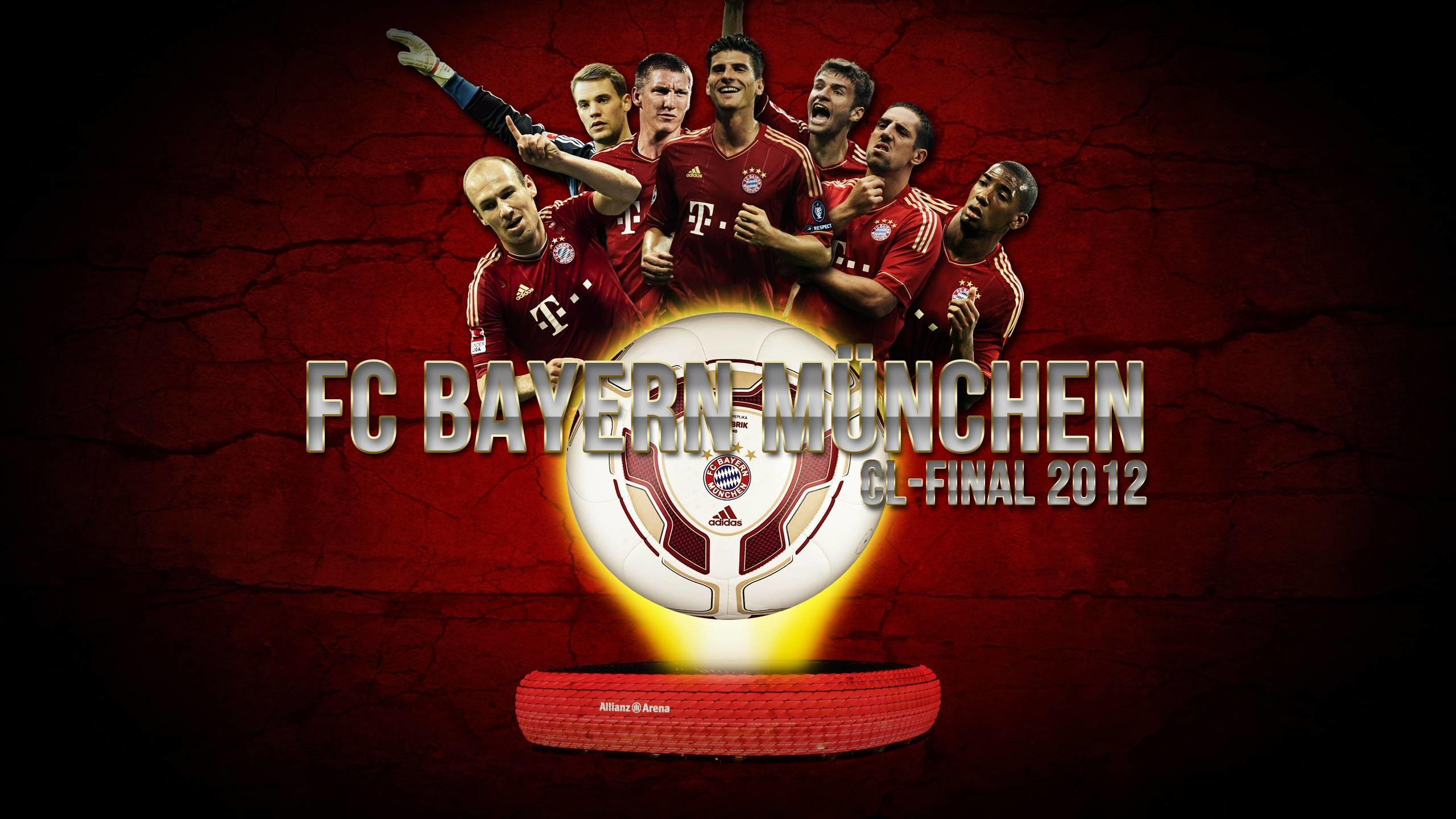DeviantArt: More Like FC Bayern Munich Wallpaper JPG und PSD by Wybi