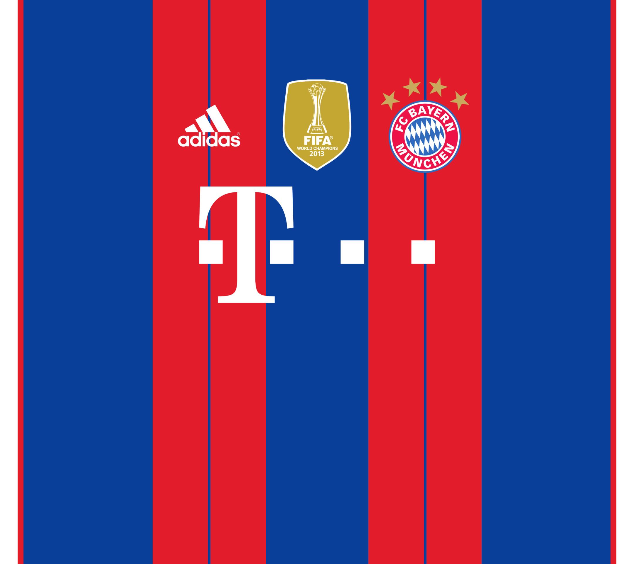 … FC Bayern Munich Home Kit Wallpaper by the27thFalkon