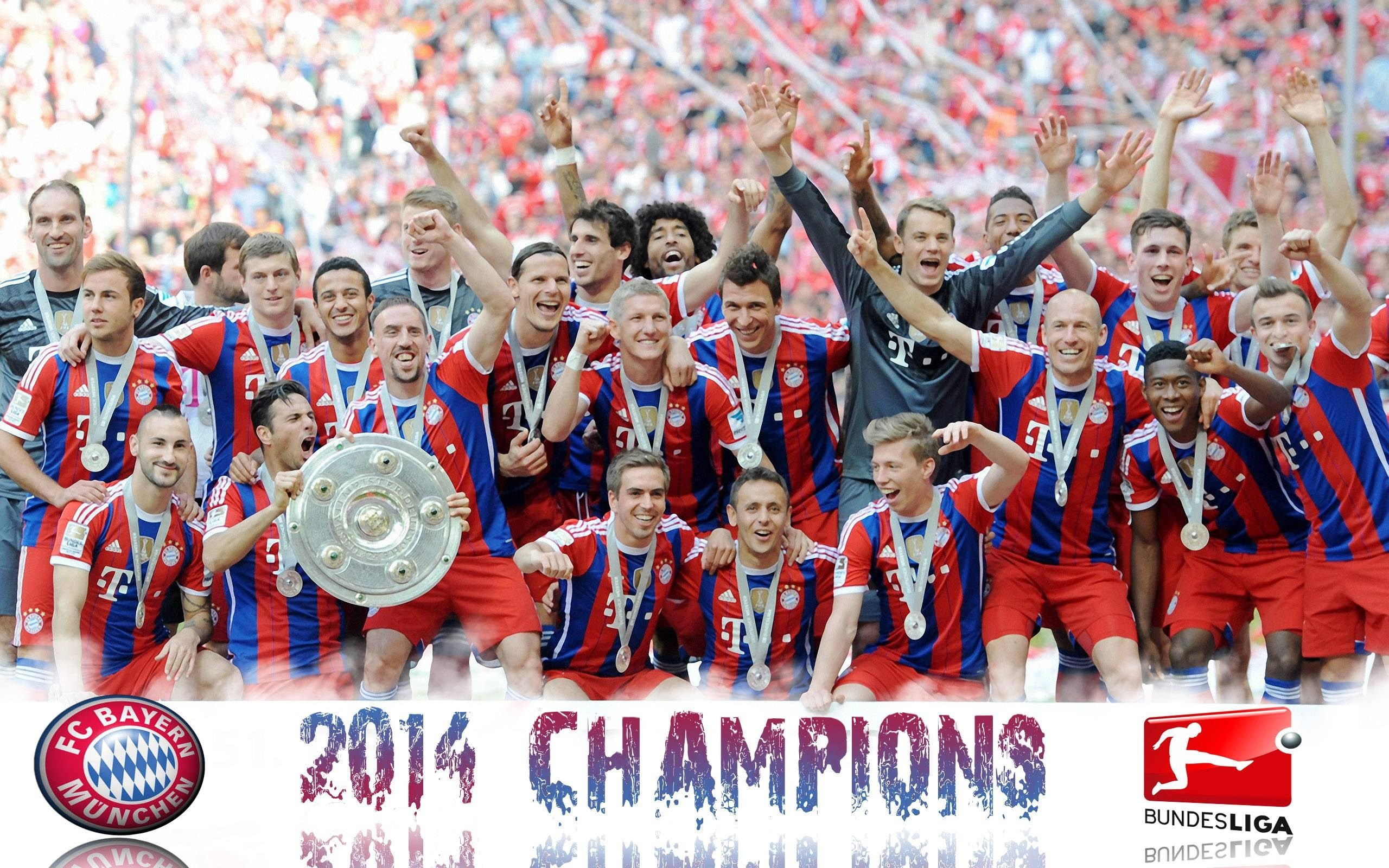 free screensaver wallpapers for bayern munchen, 2560 x 1600 (588 kB)