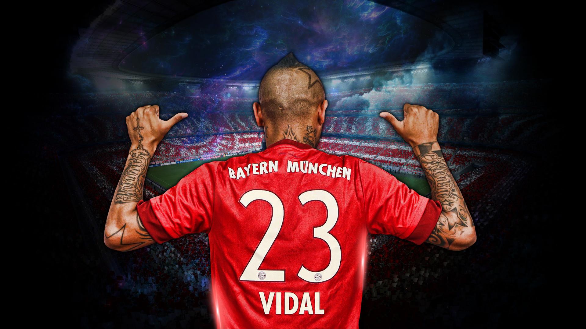 Arturo Vidal Bayern Munich Wallpaper