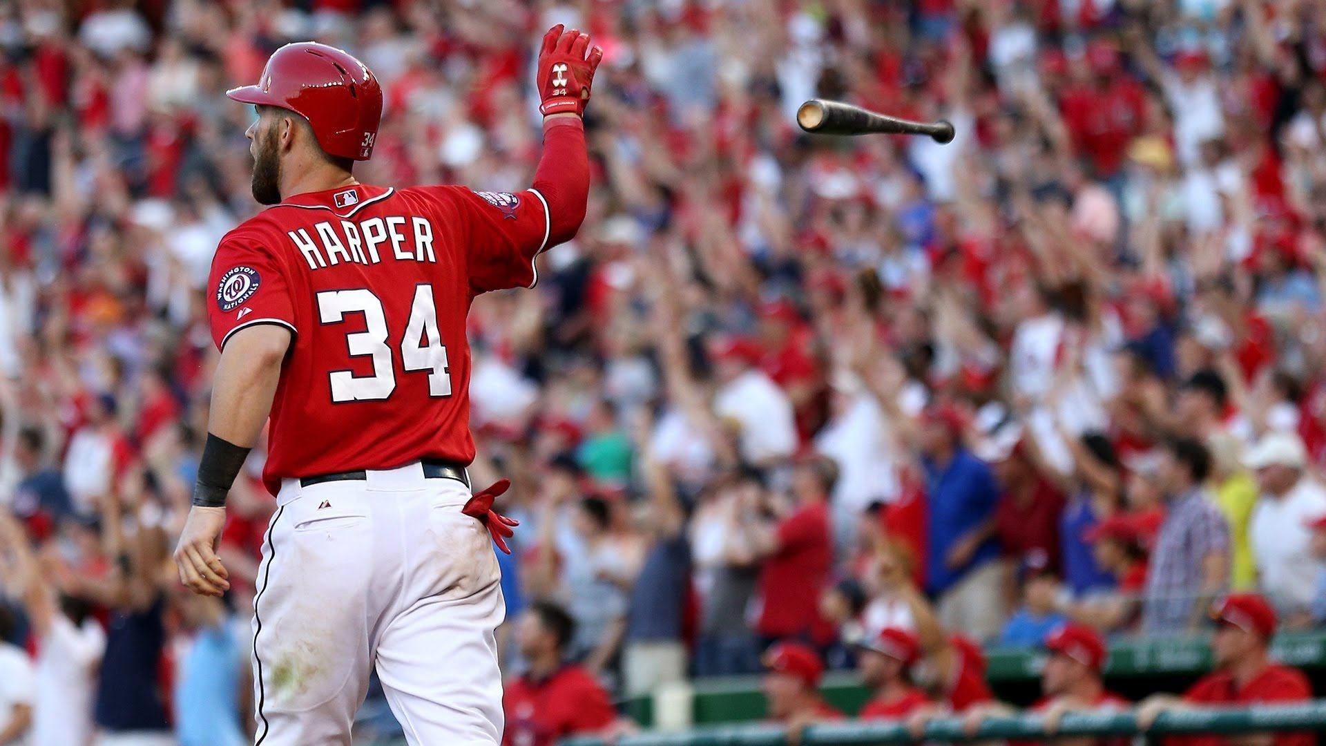 bryce harper baseball wallpaper free download