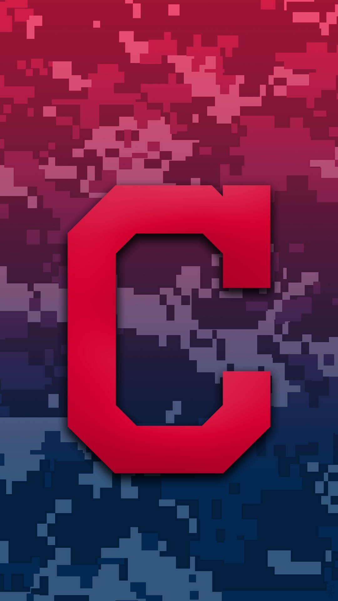 Cleveland Indians Camo Background For Iphone 7 Plus pertaining to Cleveland  Indians Phone Wallpapers …