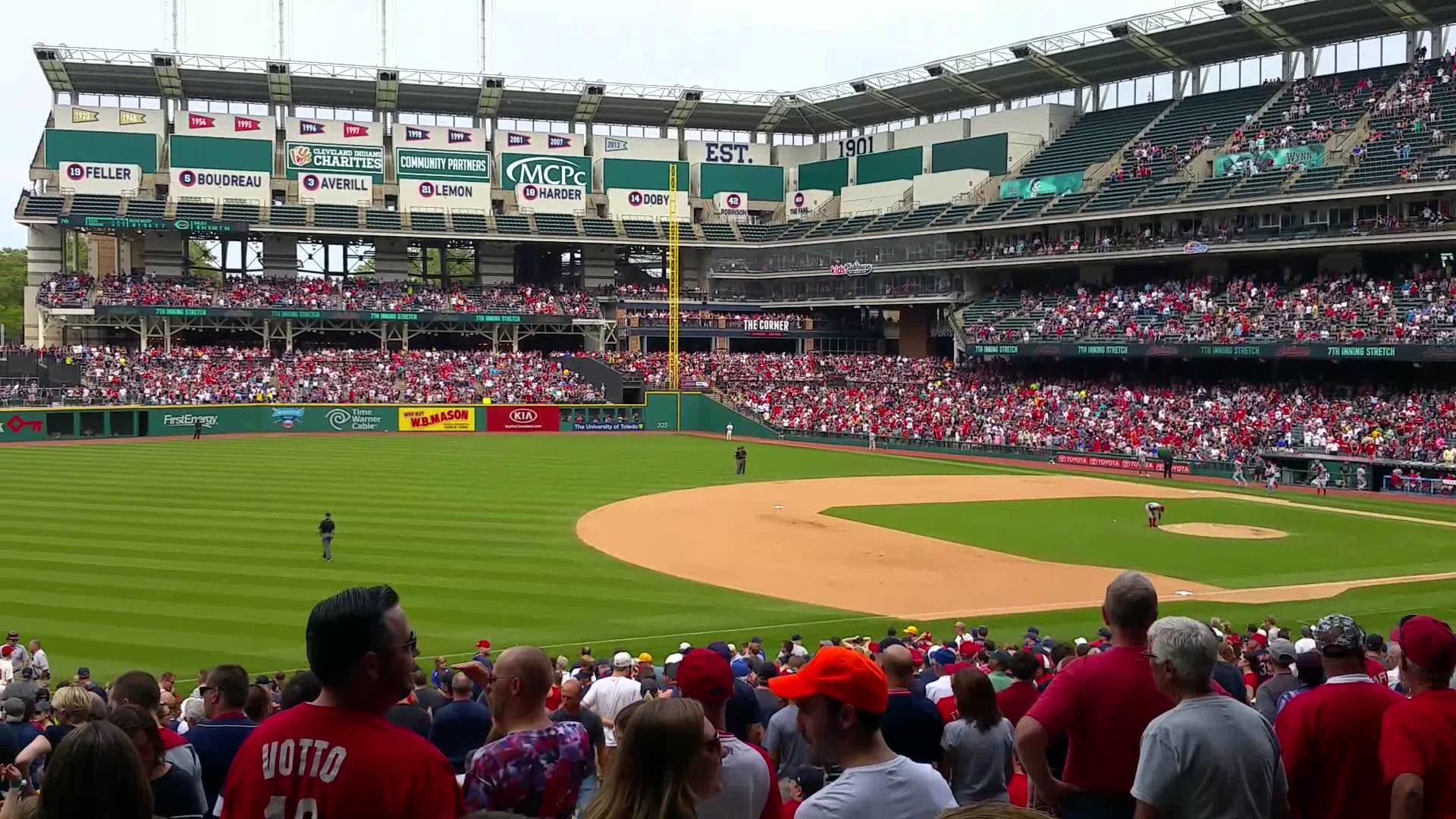Take me out to the ballgame – Cleveland Indians 2015