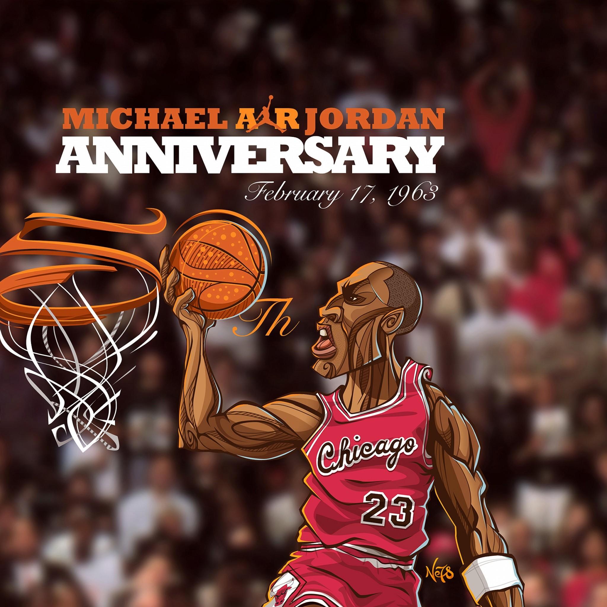 Preview wallpaper michael jordan, chicago bulls, sports, basketball, nba  2048×2048